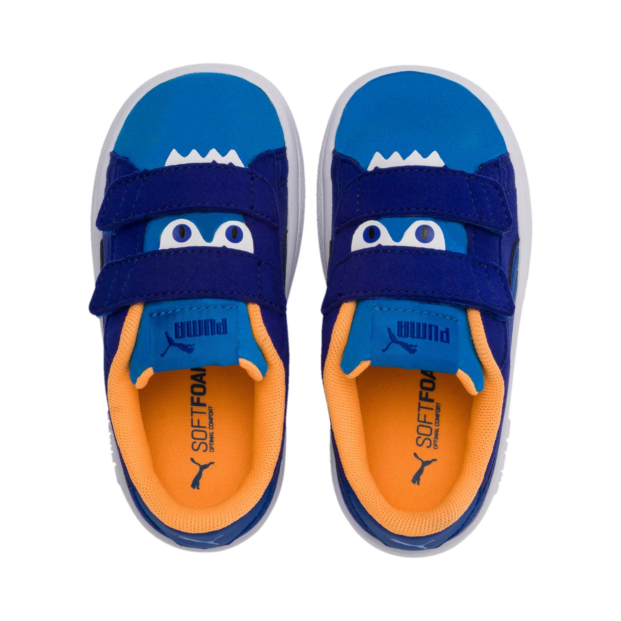 Thumbnail 6 of PUMA Smash v2 Monster Little Kids' Shoes, Sf Th Wb-I Bunting-Ornge-Wht, medium