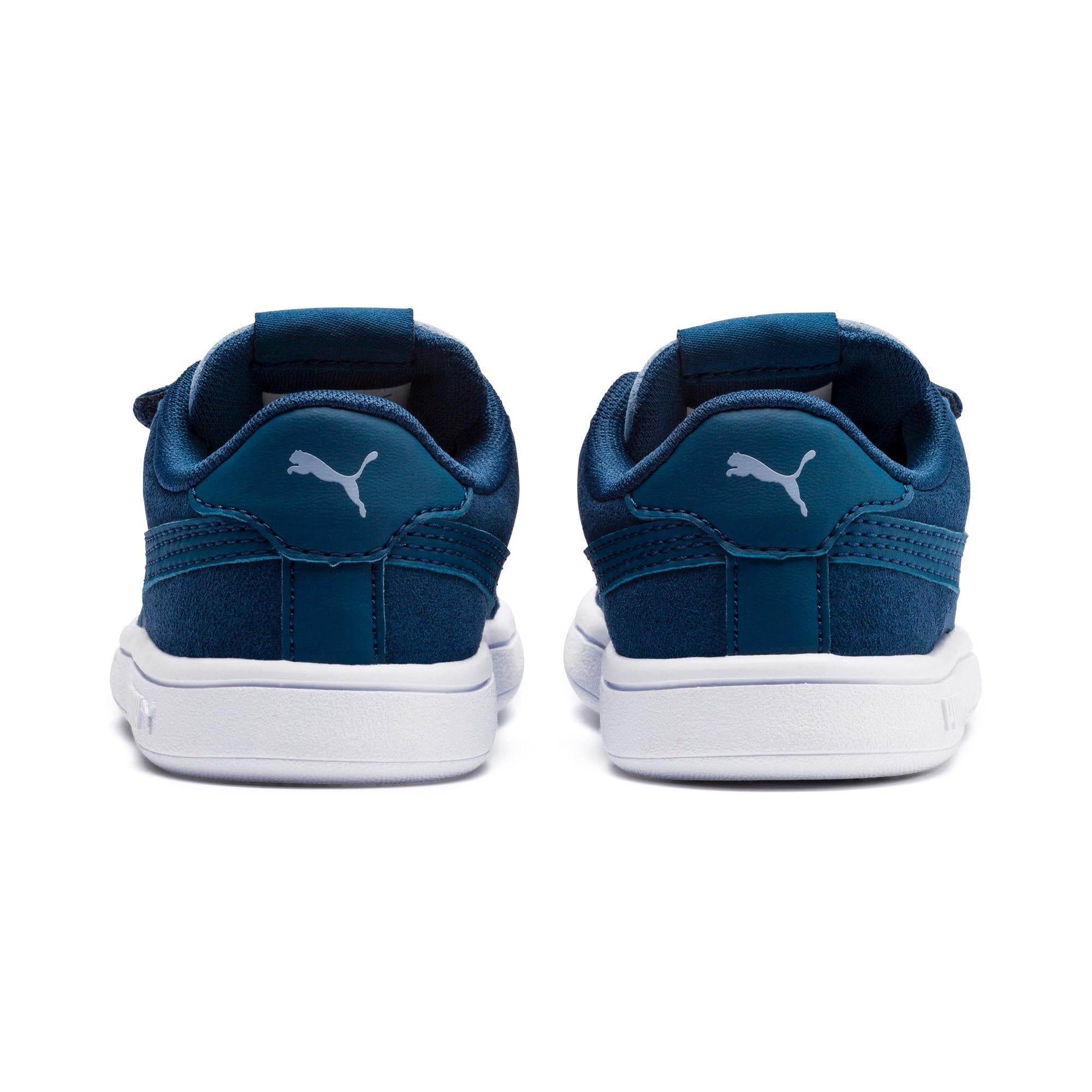 Thumbnail 3 of PUMA Smash v2 Monster Toddler Shoes, Gibraltar Sea-Faded Denim, medium