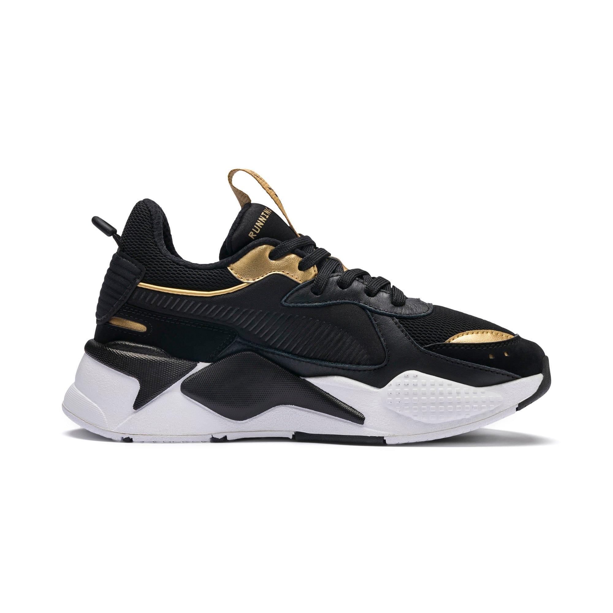 Thumbnail 5 of RS-X Trophy Sneakers JR, Puma Black-Puma Team Gold, medium
