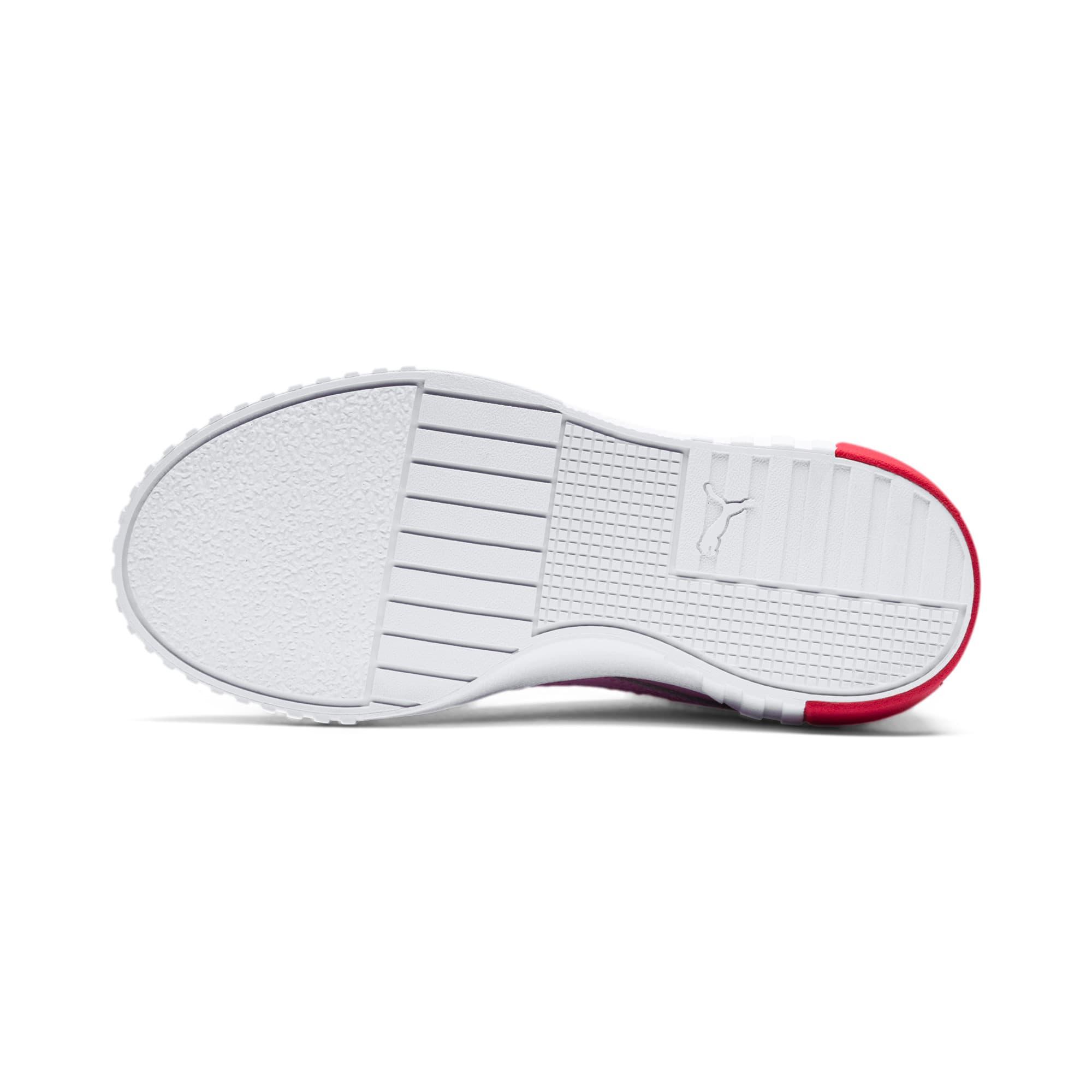 Thumbnail 4 of Cali Little Kids' Shoes, Puma White-Hibiscus, medium