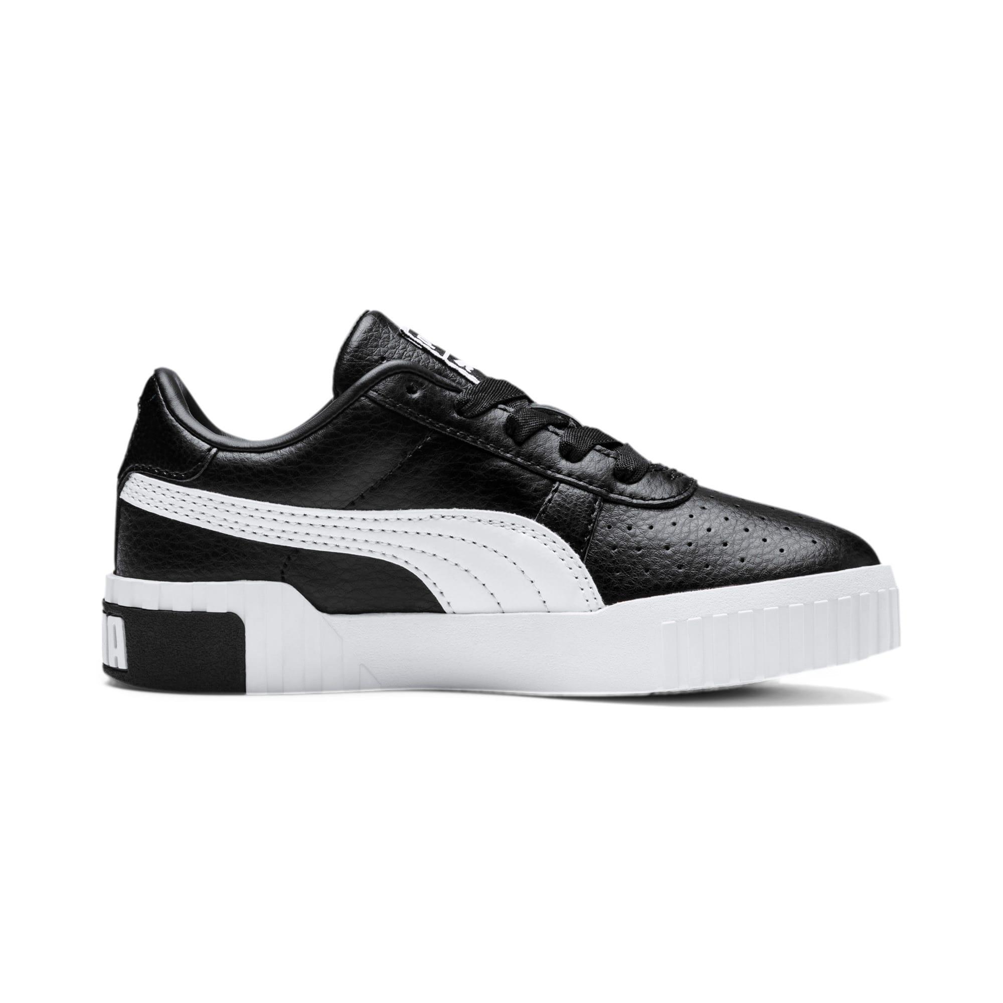 Thumbnail 5 of Cali Little Kids' Shoes, Puma Black-Puma Team Gold, medium