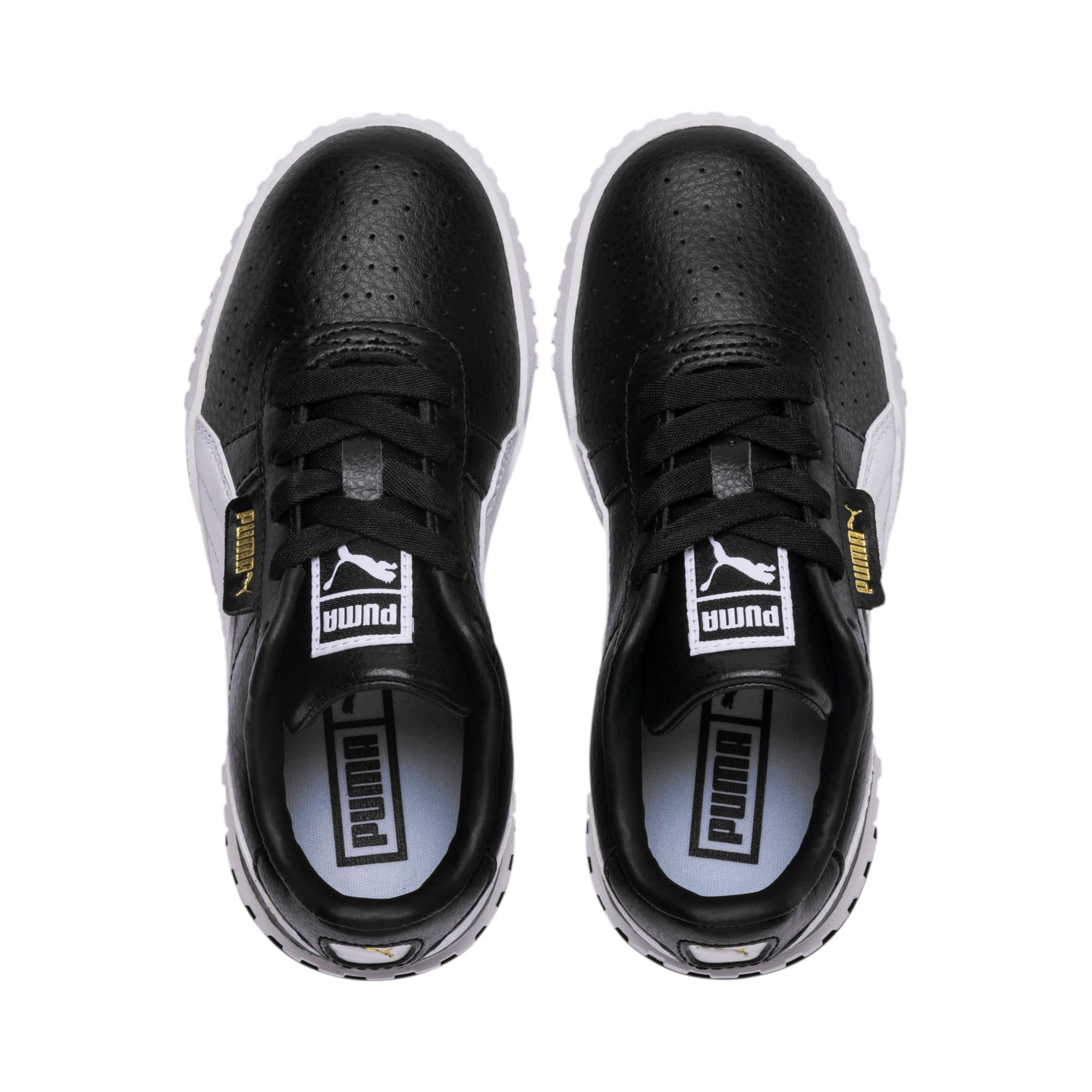 Imagen en miniatura 6 de Zapatillas Cali de niña, Puma Black-Puma Team Gold, mediana