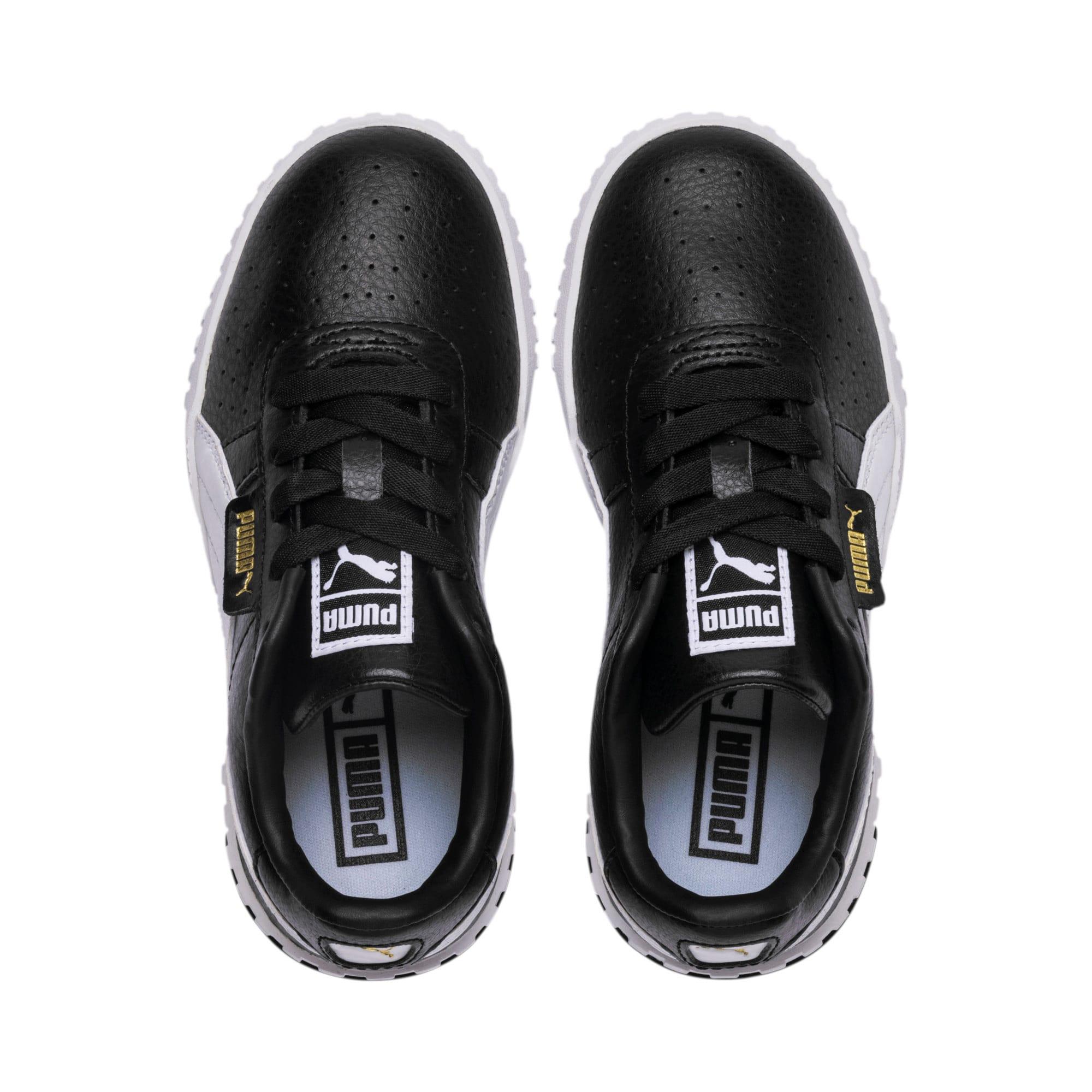 Thumbnail 6 of Cali Little Kids' Shoes, Puma Black-Puma Team Gold, medium
