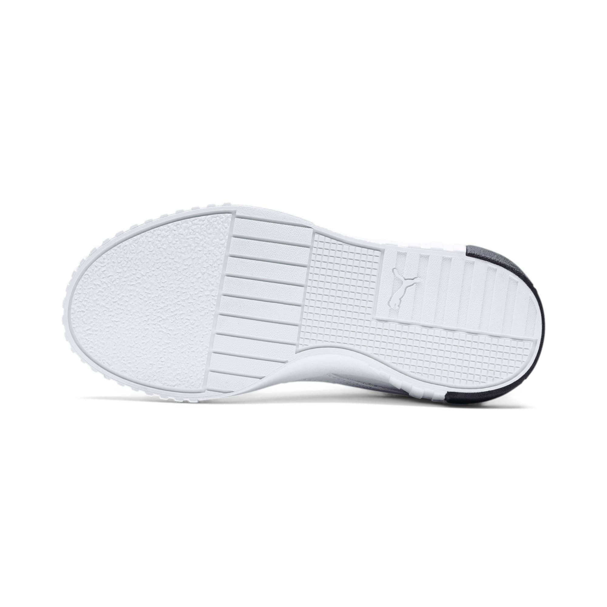 Thumbnail 4 of Cali Kids' Mädchen Sneaker, Puma White-Puma Black, medium