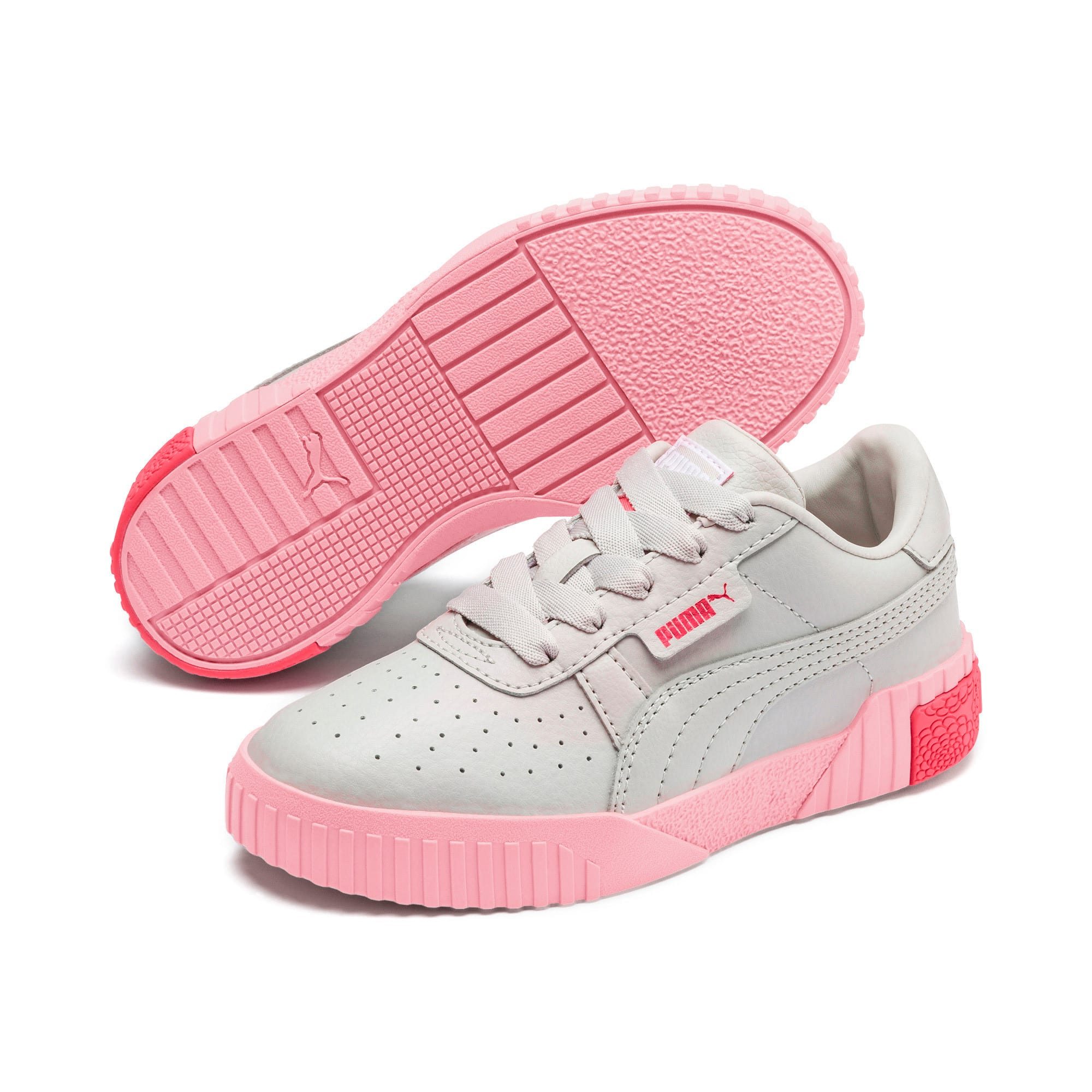 Thumbnail 2 of Cali Little Kids' Shoes, Gray Violet-Calypso Coral, medium