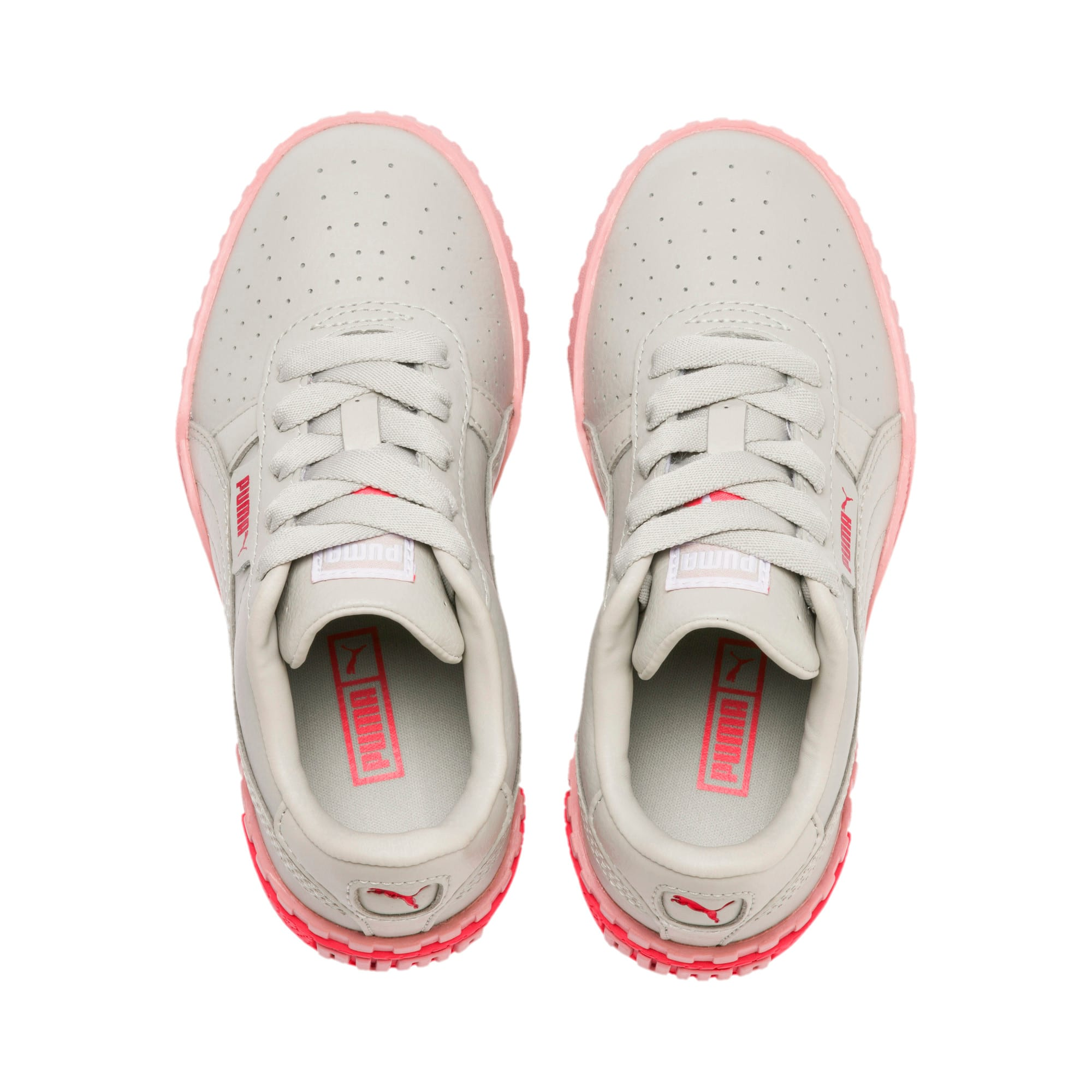 Thumbnail 6 of Cali Little Kids' Shoes, Gray Violet-Calypso Coral, medium