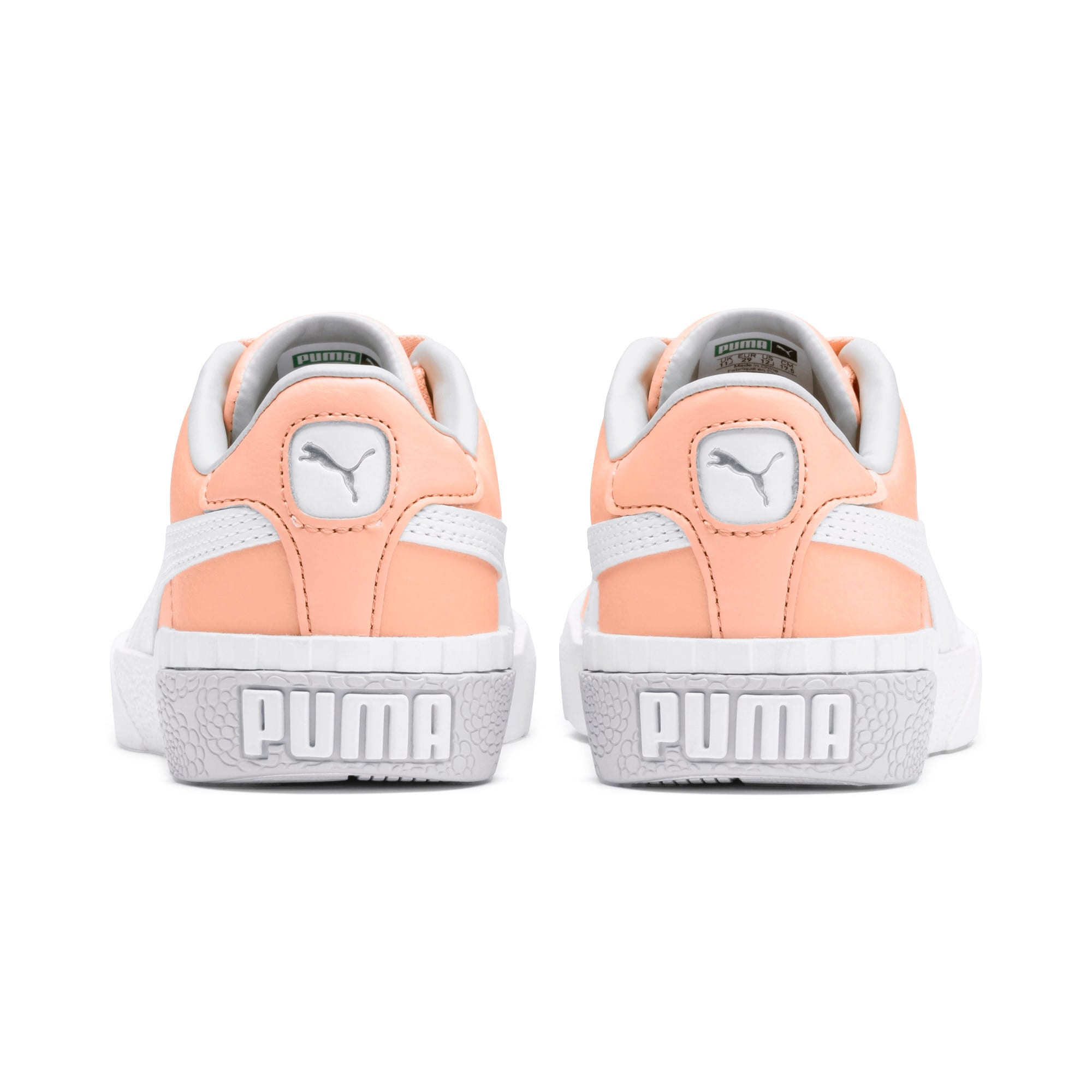 Thumbnail 3 of Cali Girls' Trainers, Peach Parfait-Heather, medium