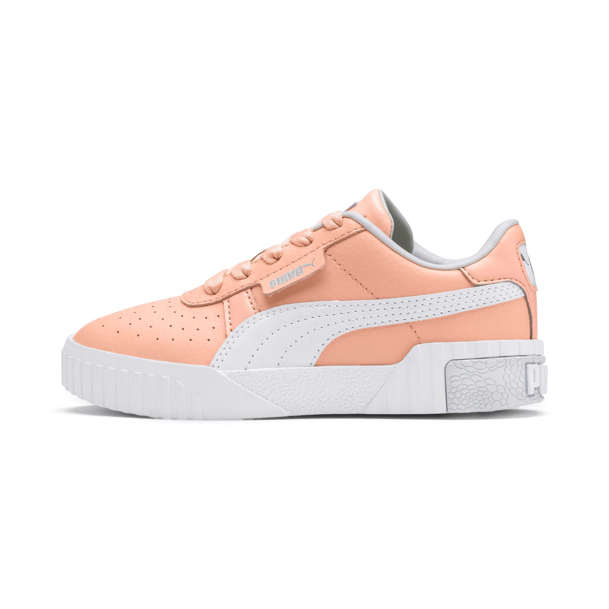 Thumbnail 1 of Cali Girls' Trainers, Peach Parfait-Heather, medium