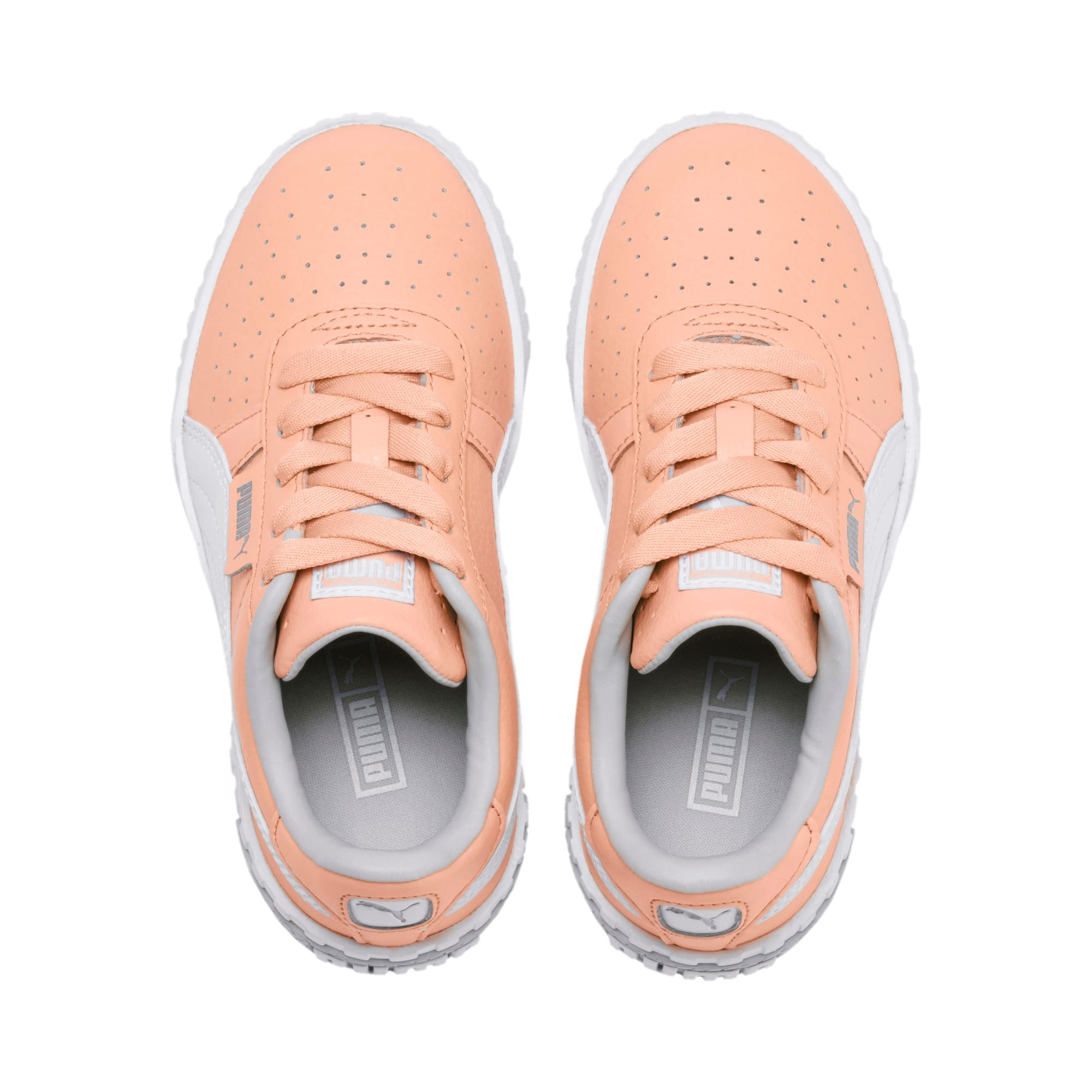 Thumbnail 6 of Cali Girls' Trainers, Peach Parfait-Heather, medium