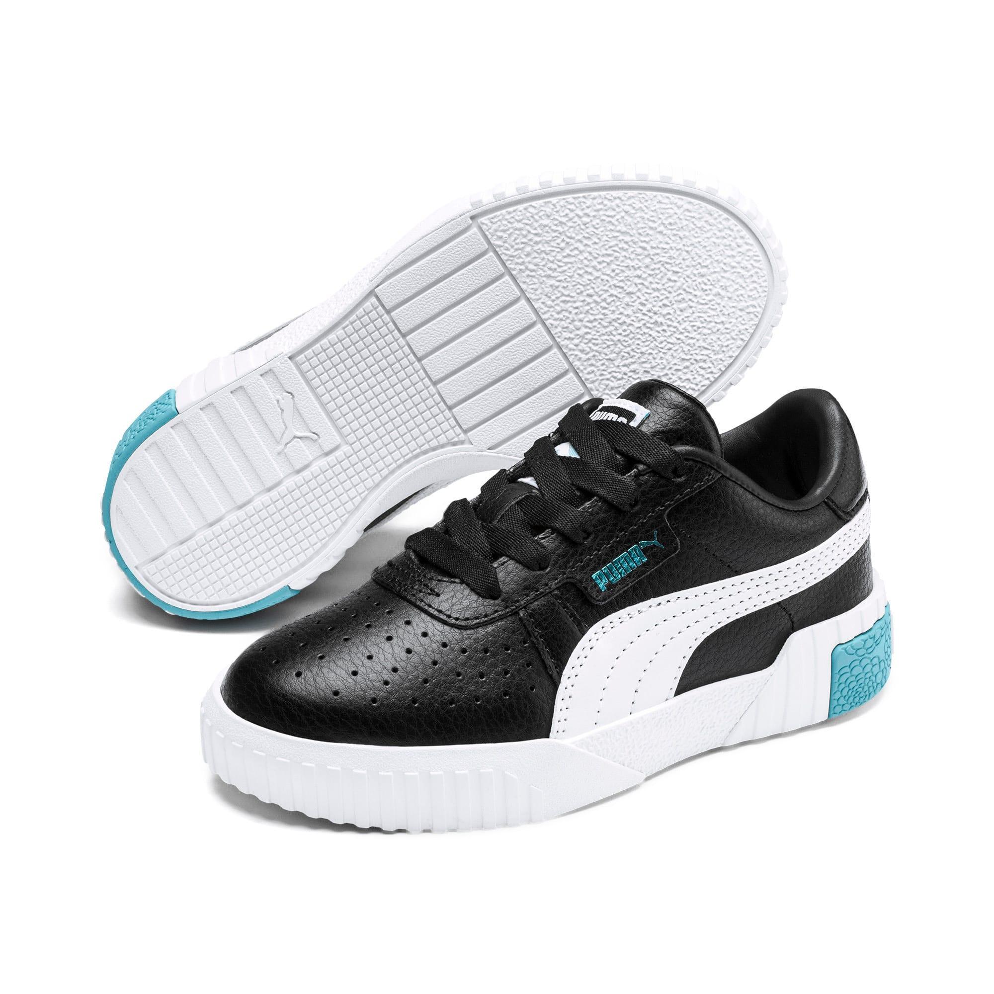 Thumbnail 2 of Cali Little Kids' Shoes, Puma Black-Milky Blue, medium