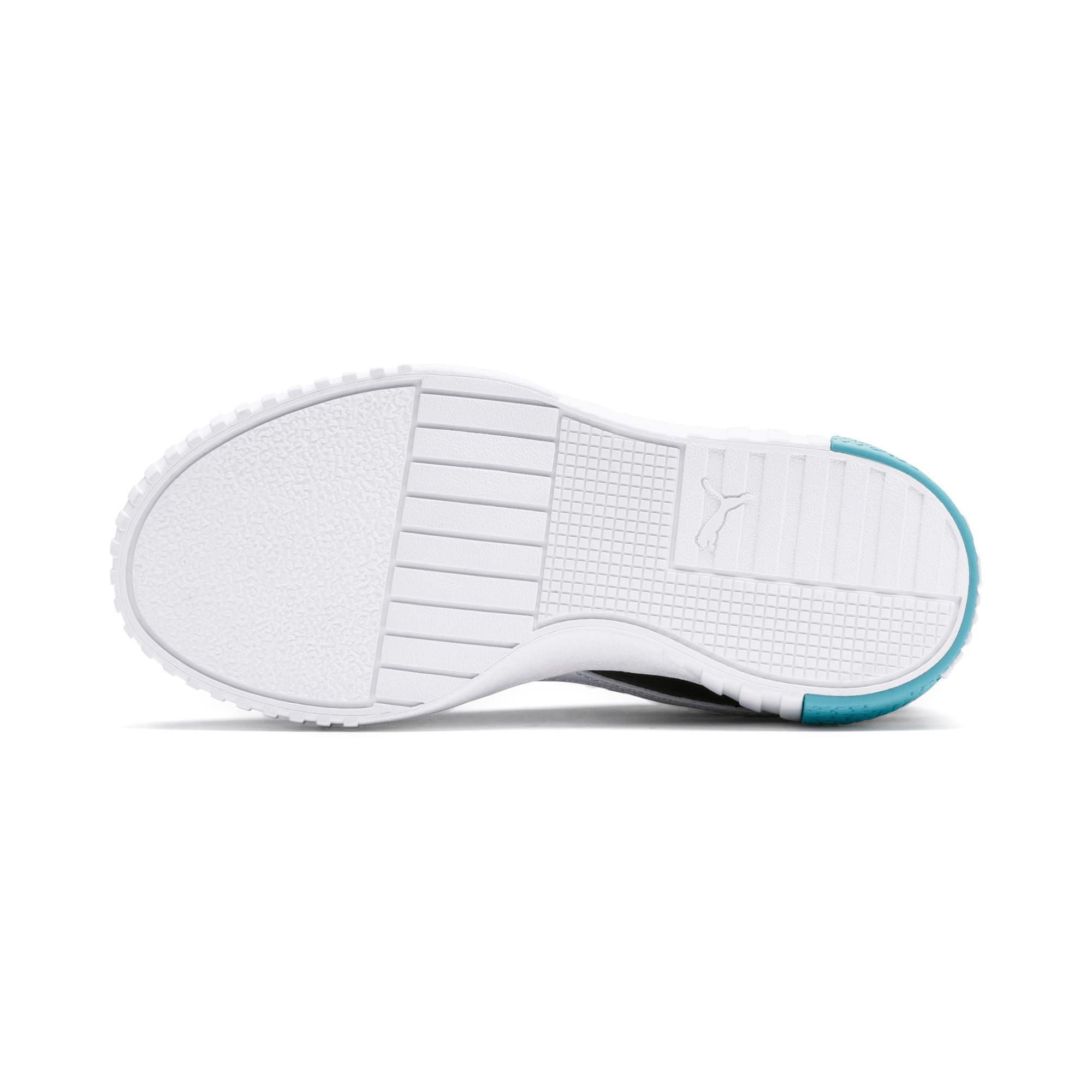 Thumbnail 4 of Cali Little Kids' Shoes, Puma Black-Milky Blue, medium