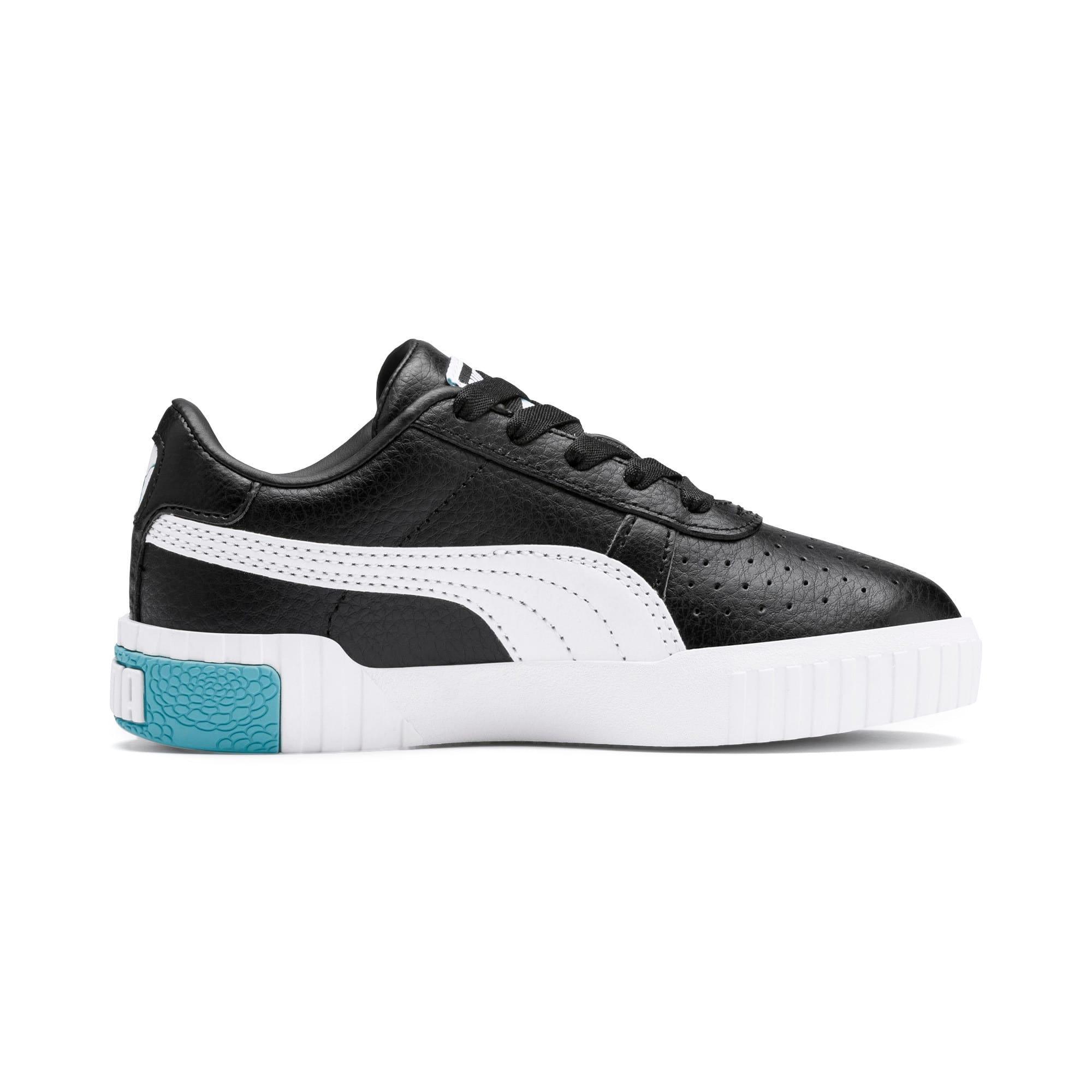 Thumbnail 5 van Cali sneakers voor meisjes, Puma Black-Milky Blue, medium