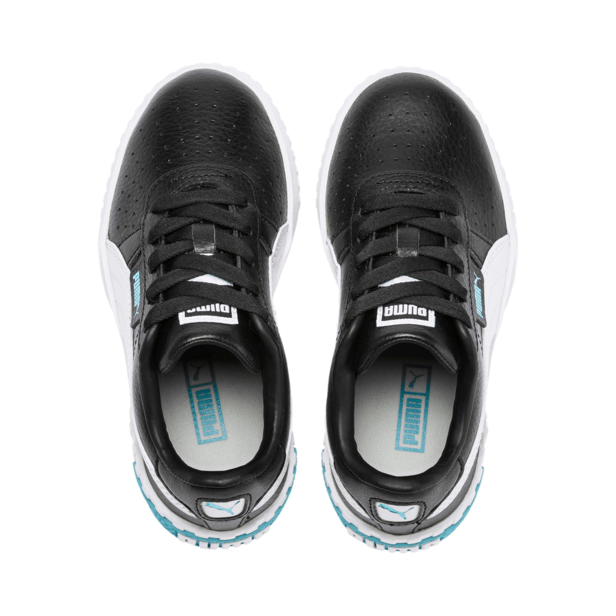 Thumbnail 6 of Cali Little Kids' Shoes, Puma Black-Milky Blue, medium
