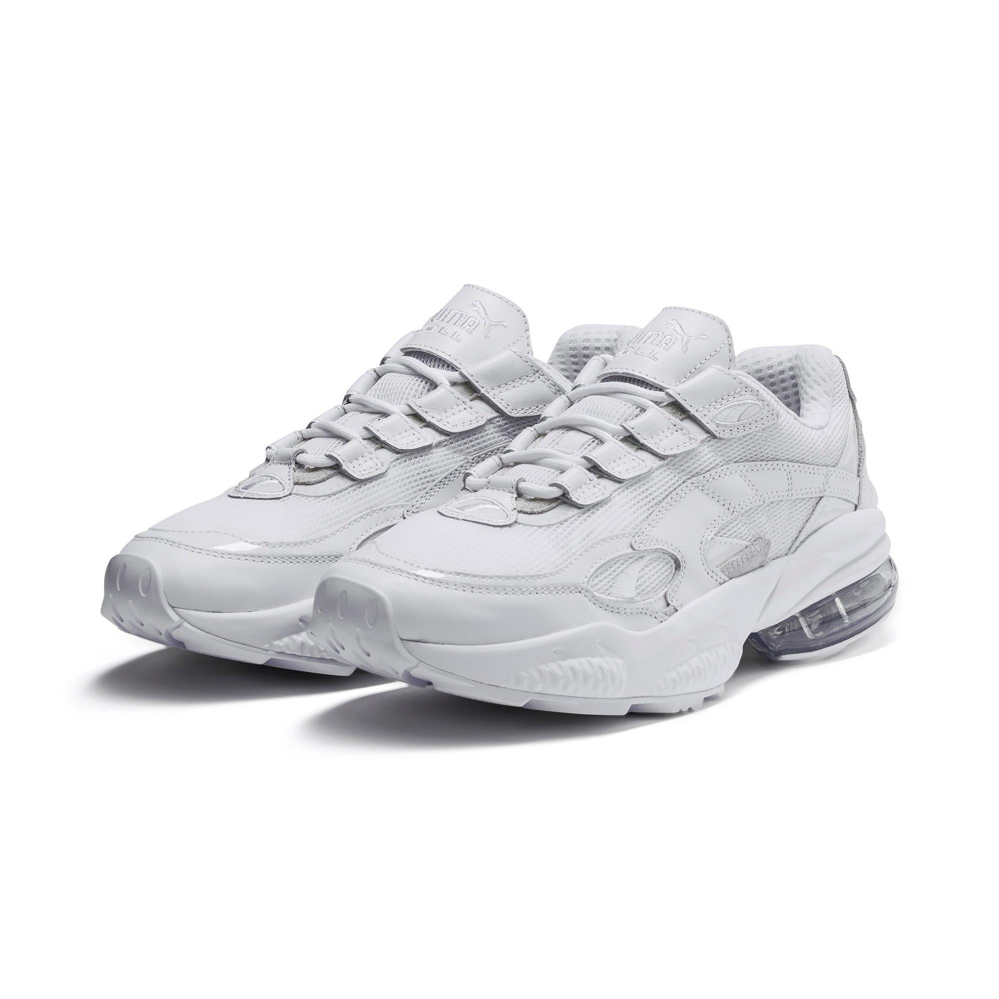 Thumbnail 3 of CELL Venom Reflective Sneakers, Puma White-Puma White, medium
