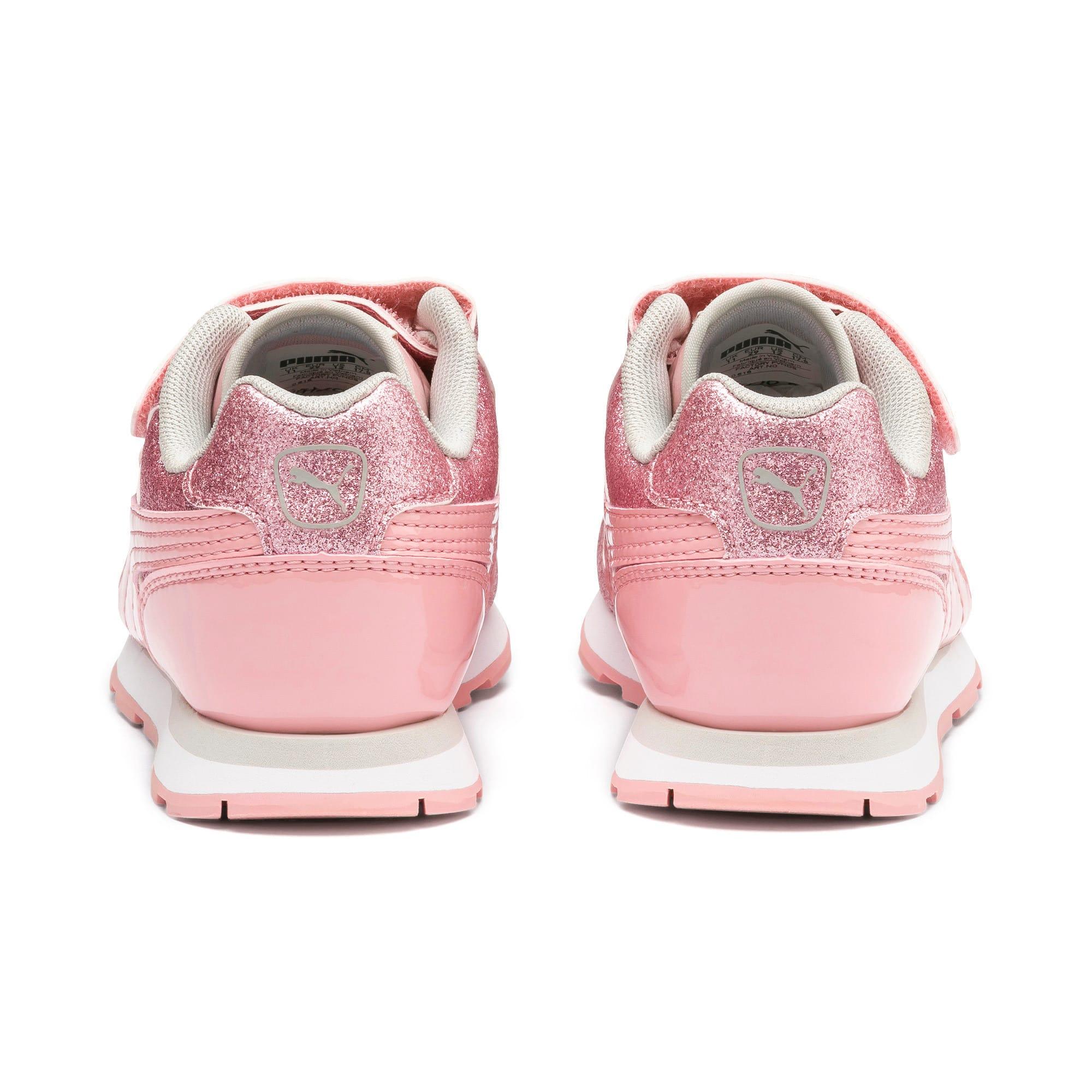 Miniatura 4 de Zapatos Vista Glitz para niña pequeña, Bridal Rose-Gray Violet, mediano