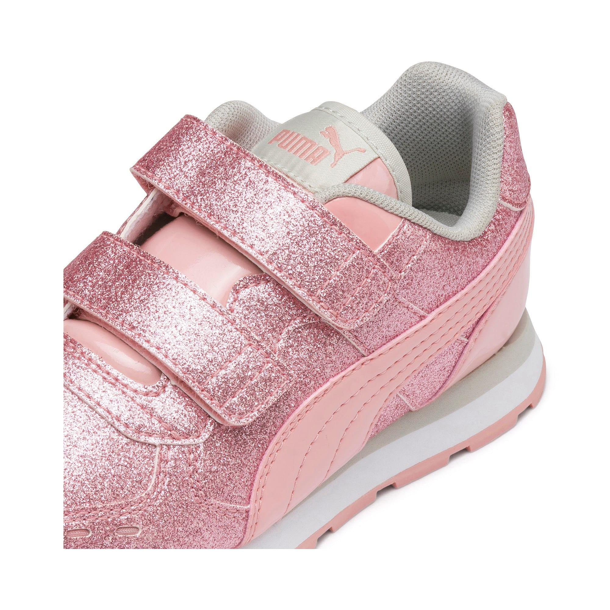 Miniatura 6 de Zapatos Vista Glitz para niña pequeña, Bridal Rose-Gray Violet, mediano