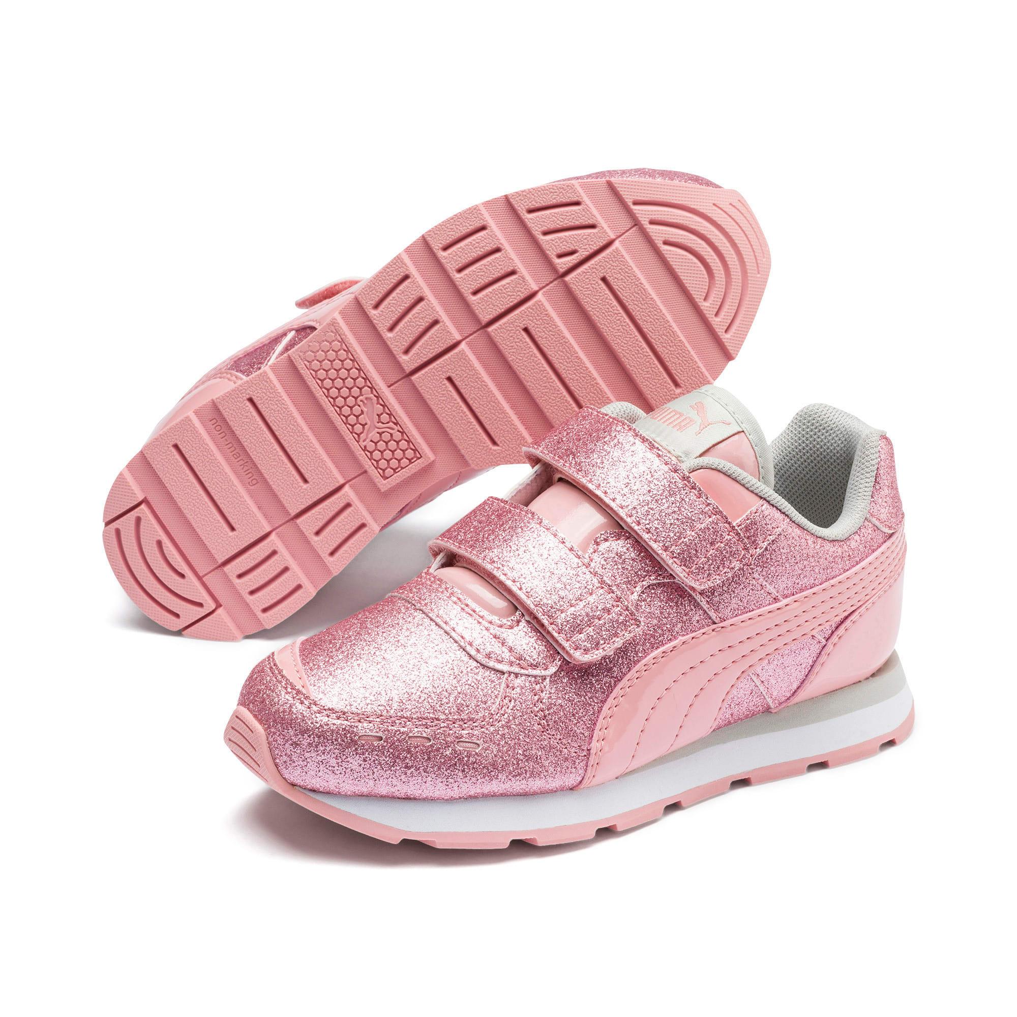 Miniatura 2 de Zapatos Vista Glitz para niña pequeña, Bridal Rose-Gray Violet, mediano