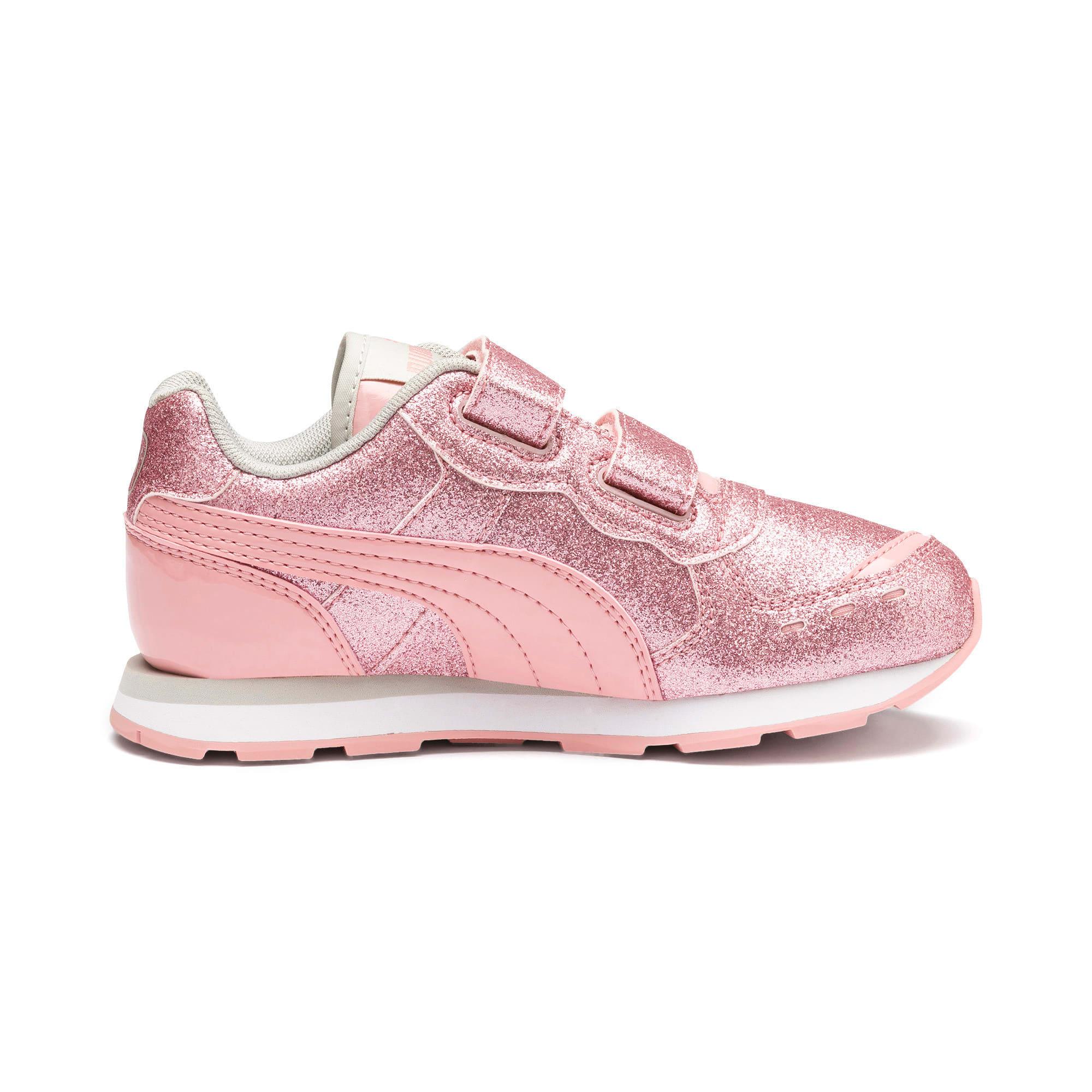 Miniatura 5 de Zapatos Vista Glitz para niña pequeña, Bridal Rose-Gray Violet, mediano