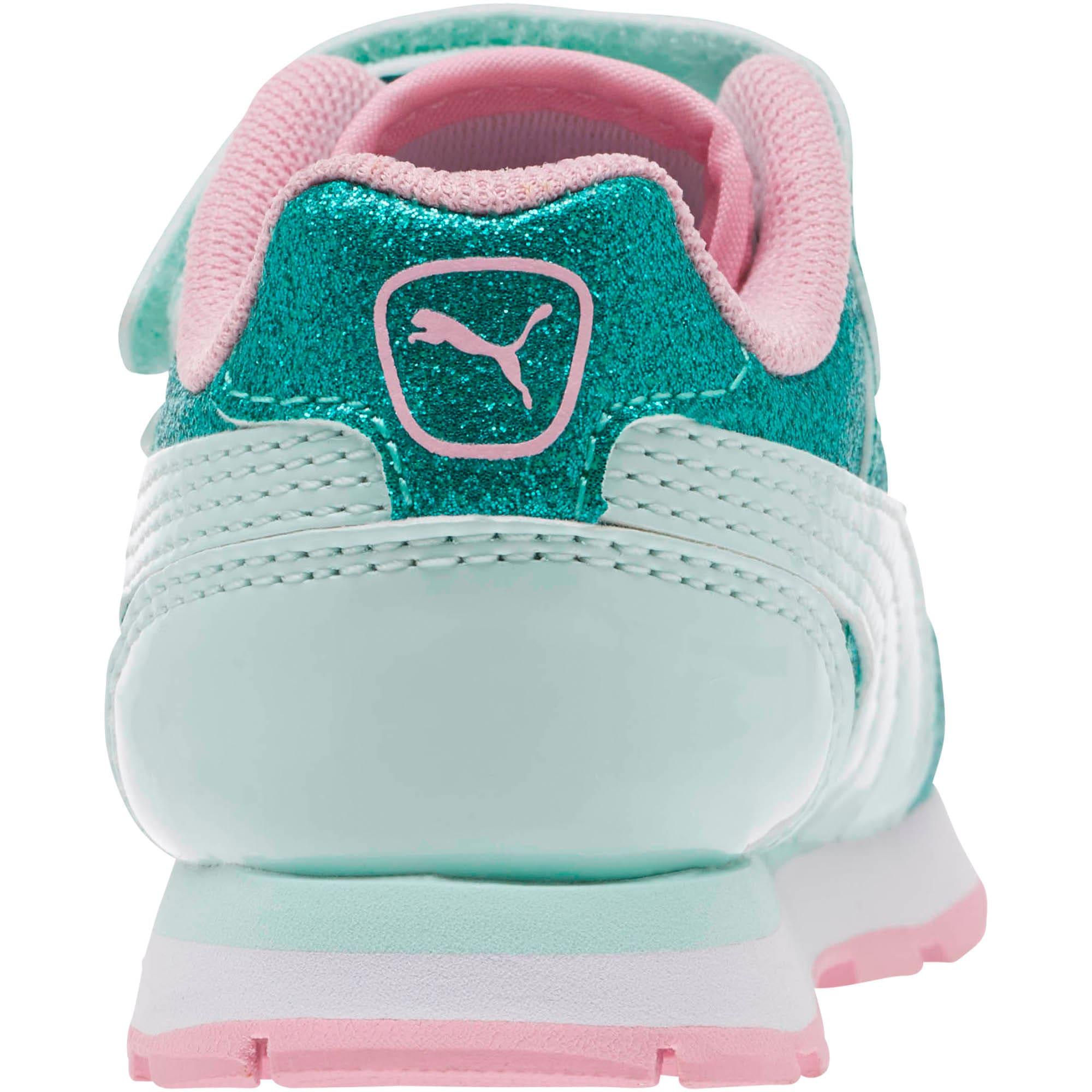 Miniatura 4 de Zapatos Vista Glitz para bebés, Fair Aqua-Pale Pink, mediano