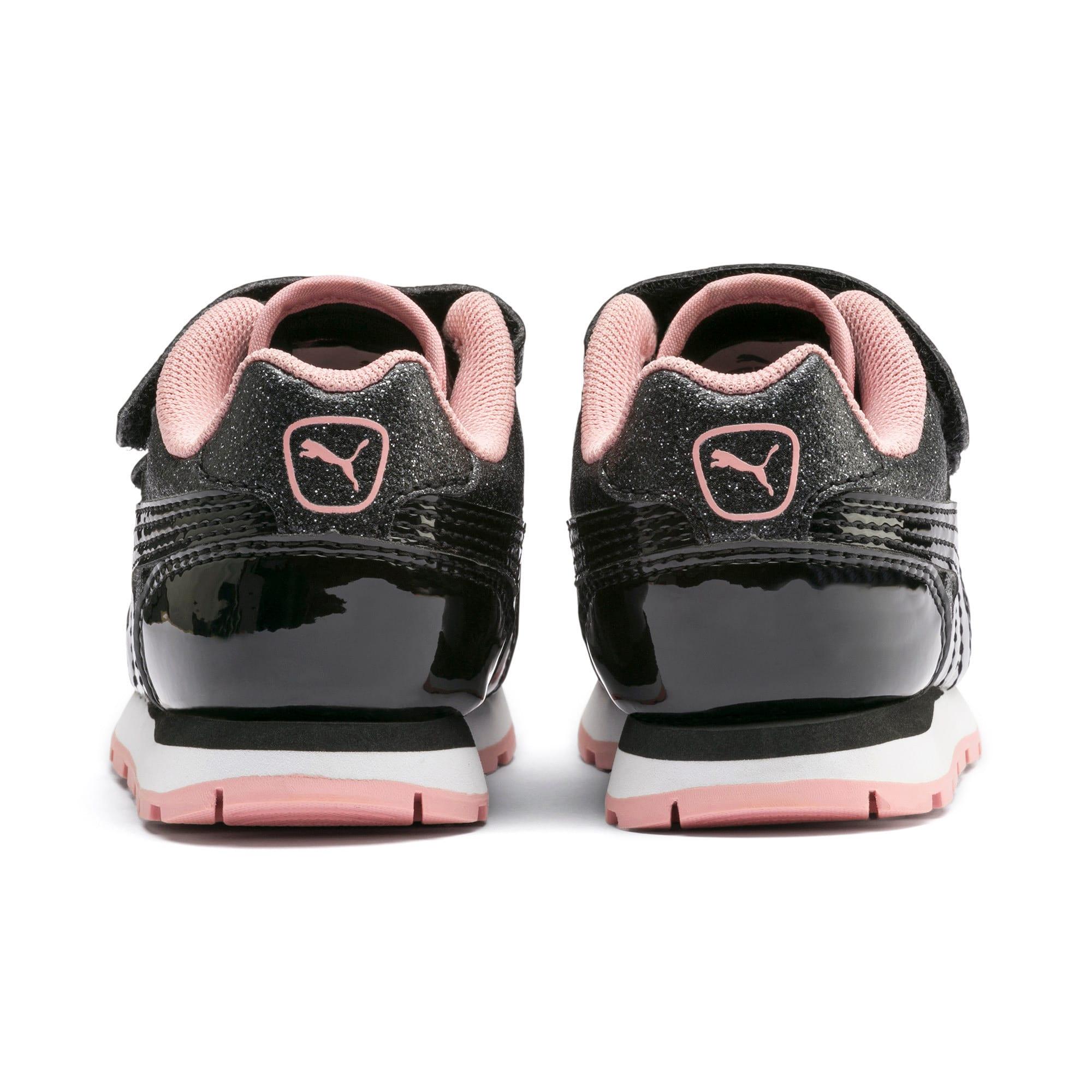 Miniatura 3 de Zapatos Vista Glitz para bebés, Puma Black-Bridal Rose, mediano