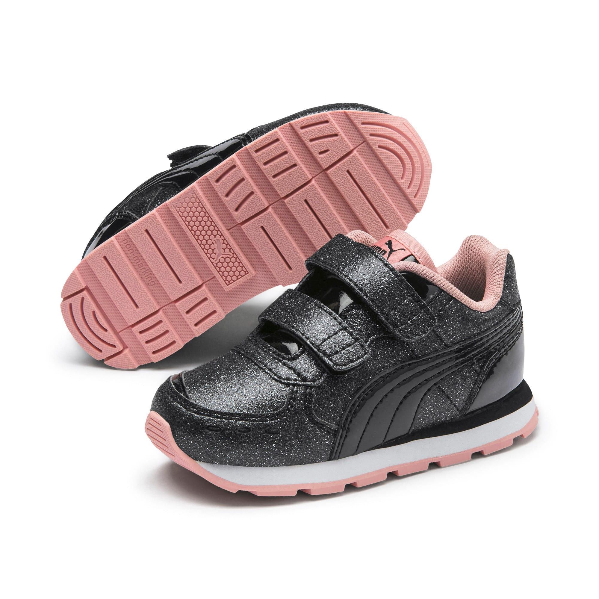 Miniatura 2 de Zapatos Vista Glitz para bebés, Puma Black-Bridal Rose, mediano