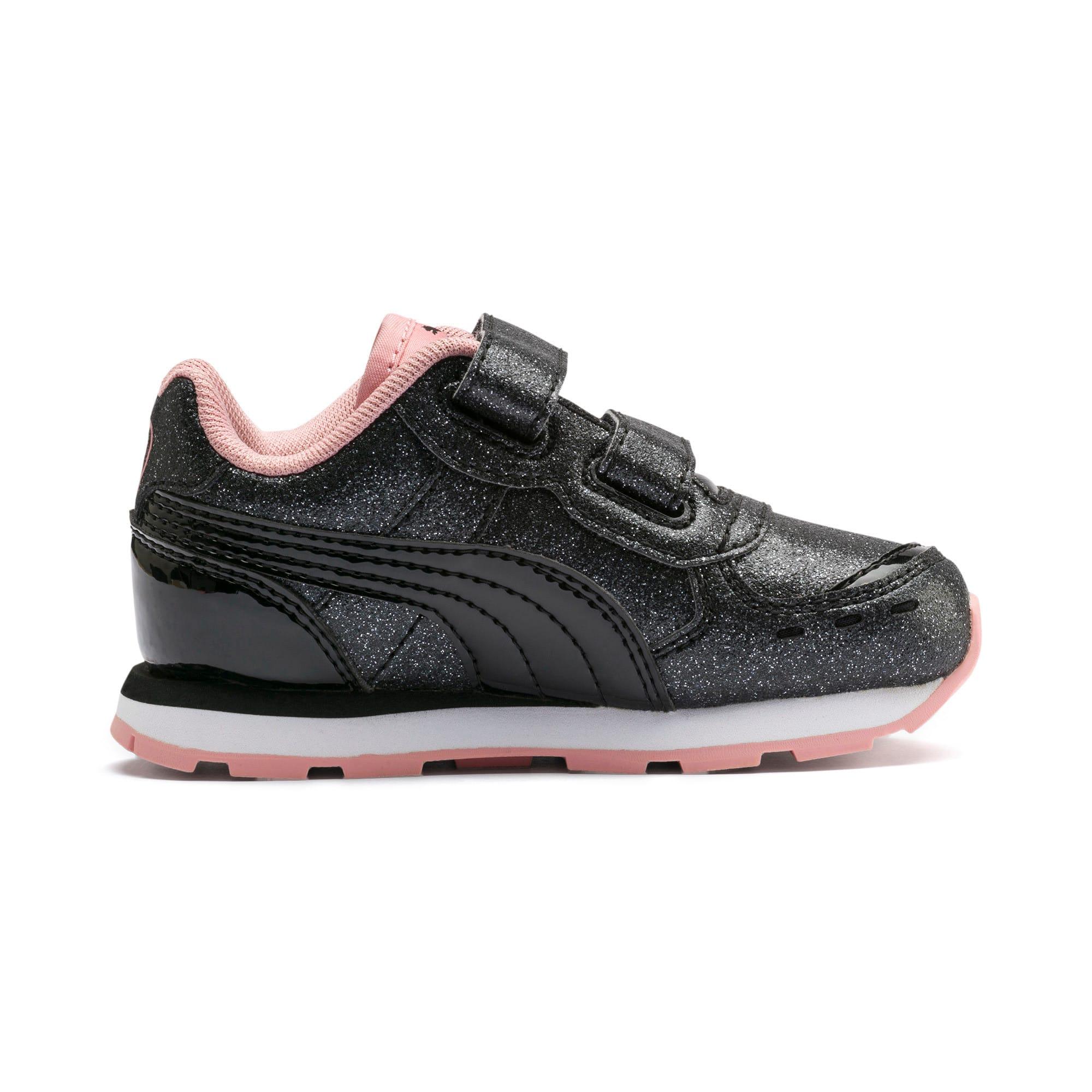 Miniatura 5 de Zapatos Vista Glitz para bebés, Puma Black-Bridal Rose, mediano