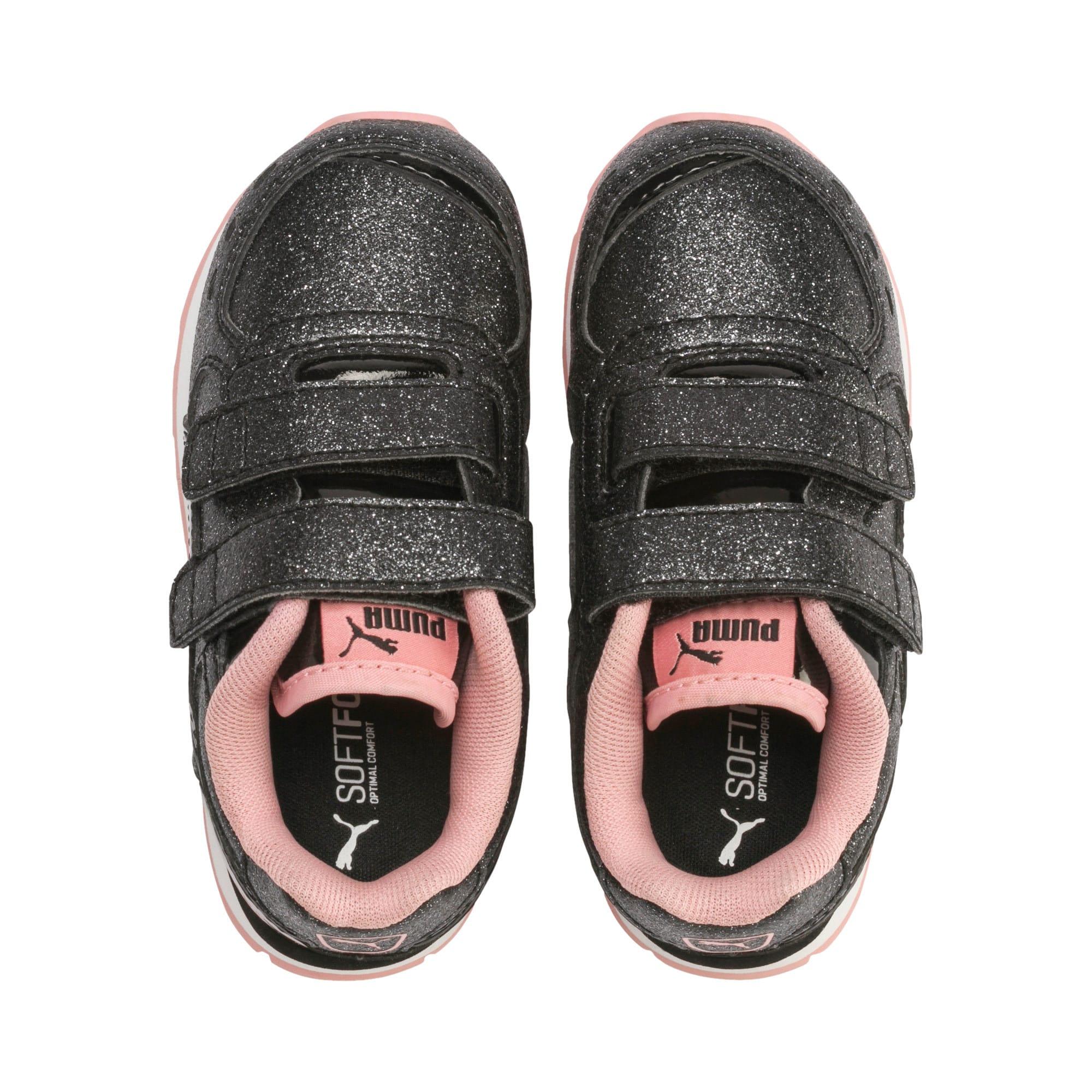 Miniatura 6 de Zapatos Vista Glitz para bebés, Puma Black-Bridal Rose, mediano