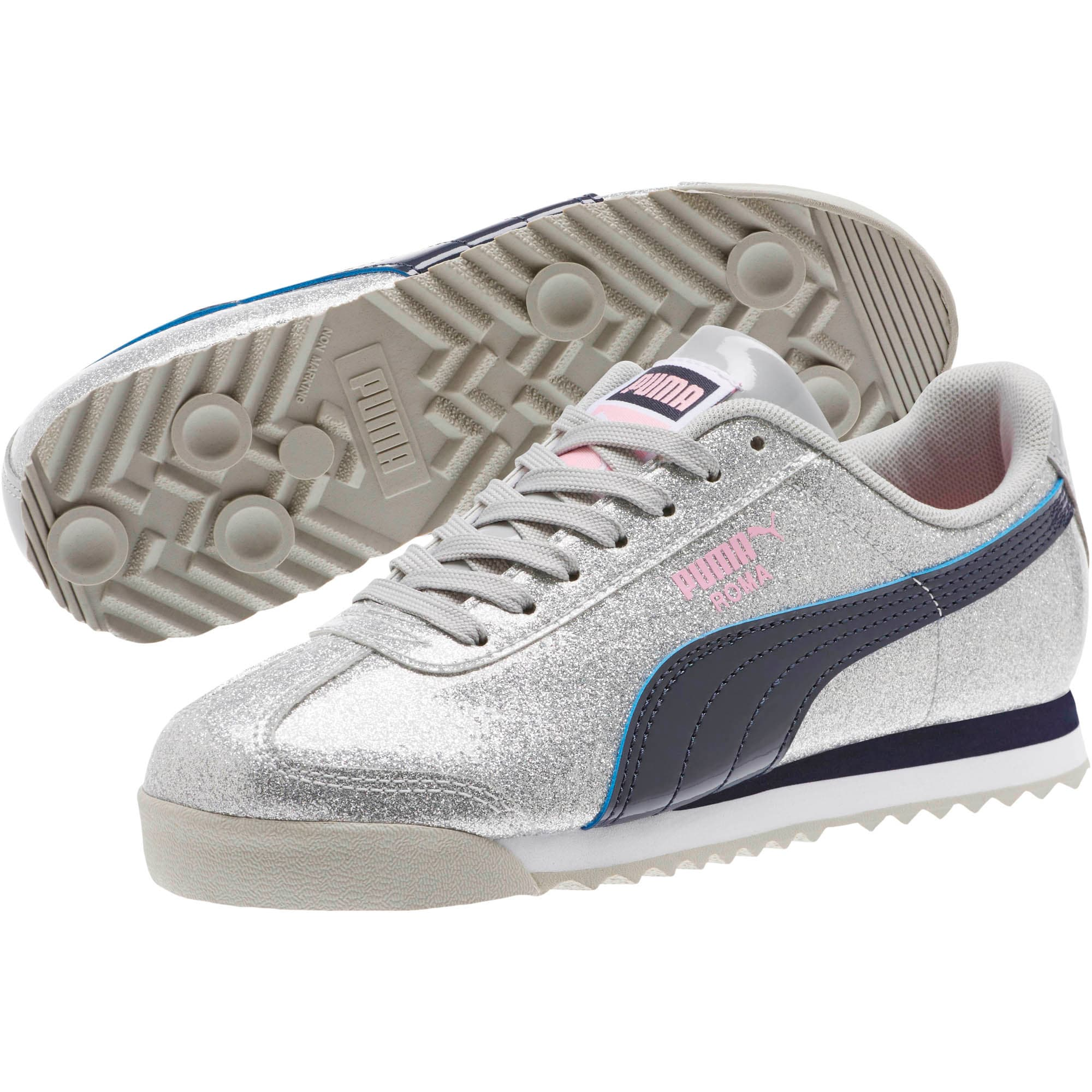 Thumbnail 2 of Roma Glam Sneakers JR, Gray Violet-Peacoat, medium