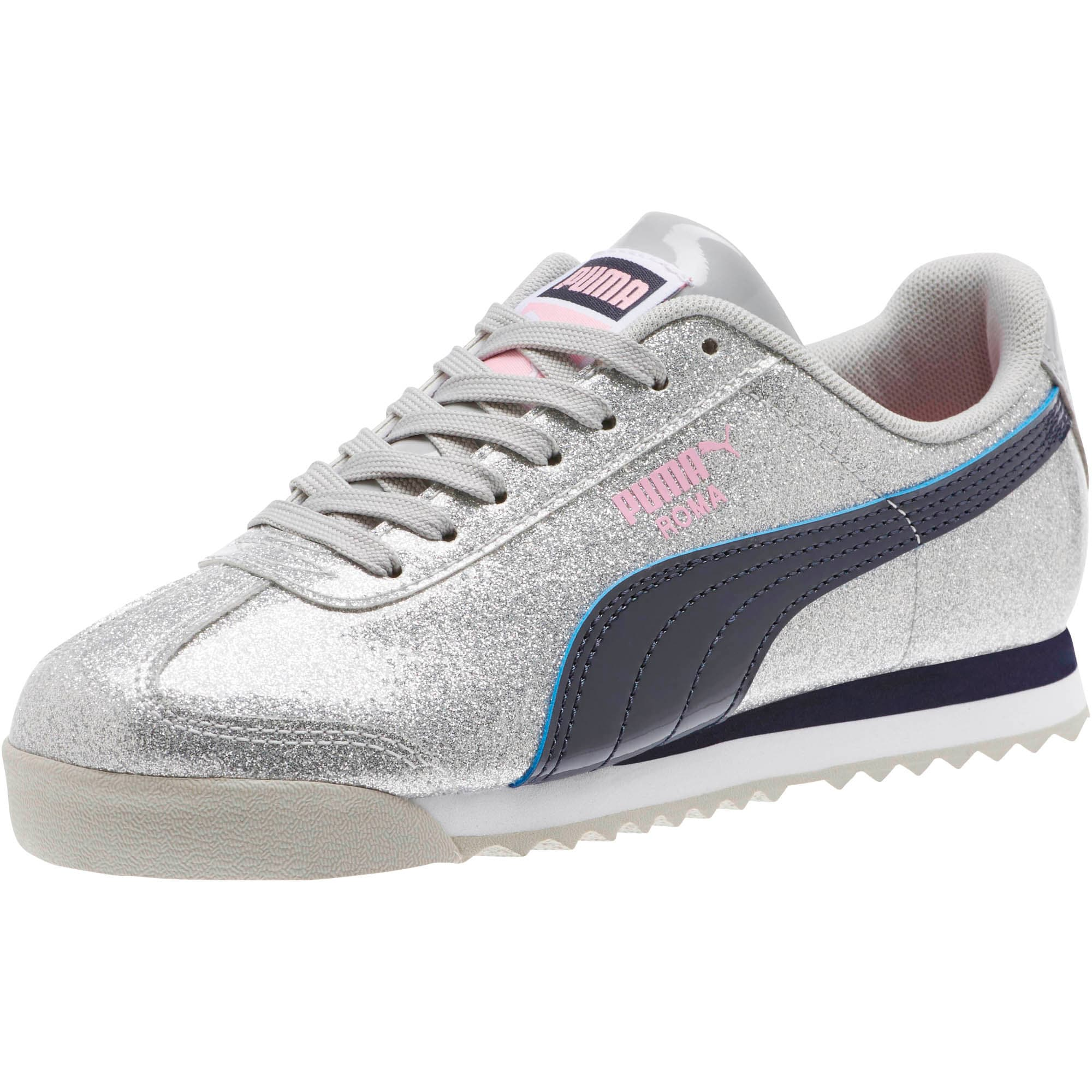 Thumbnail 1 of Roma Glam Sneakers JR, Gray Violet-Peacoat, medium