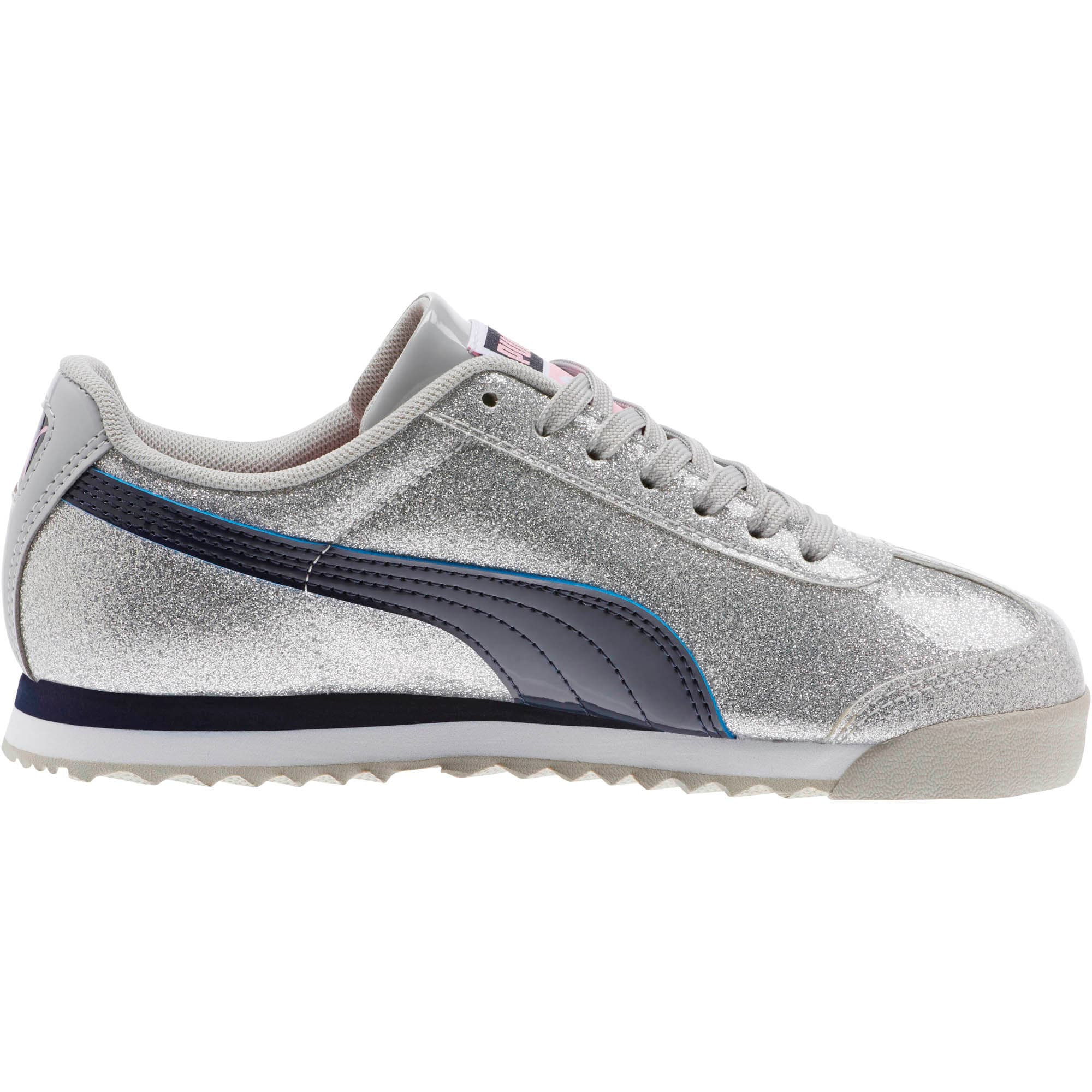 Thumbnail 3 of Roma Glam Sneakers JR, Gray Violet-Peacoat, medium