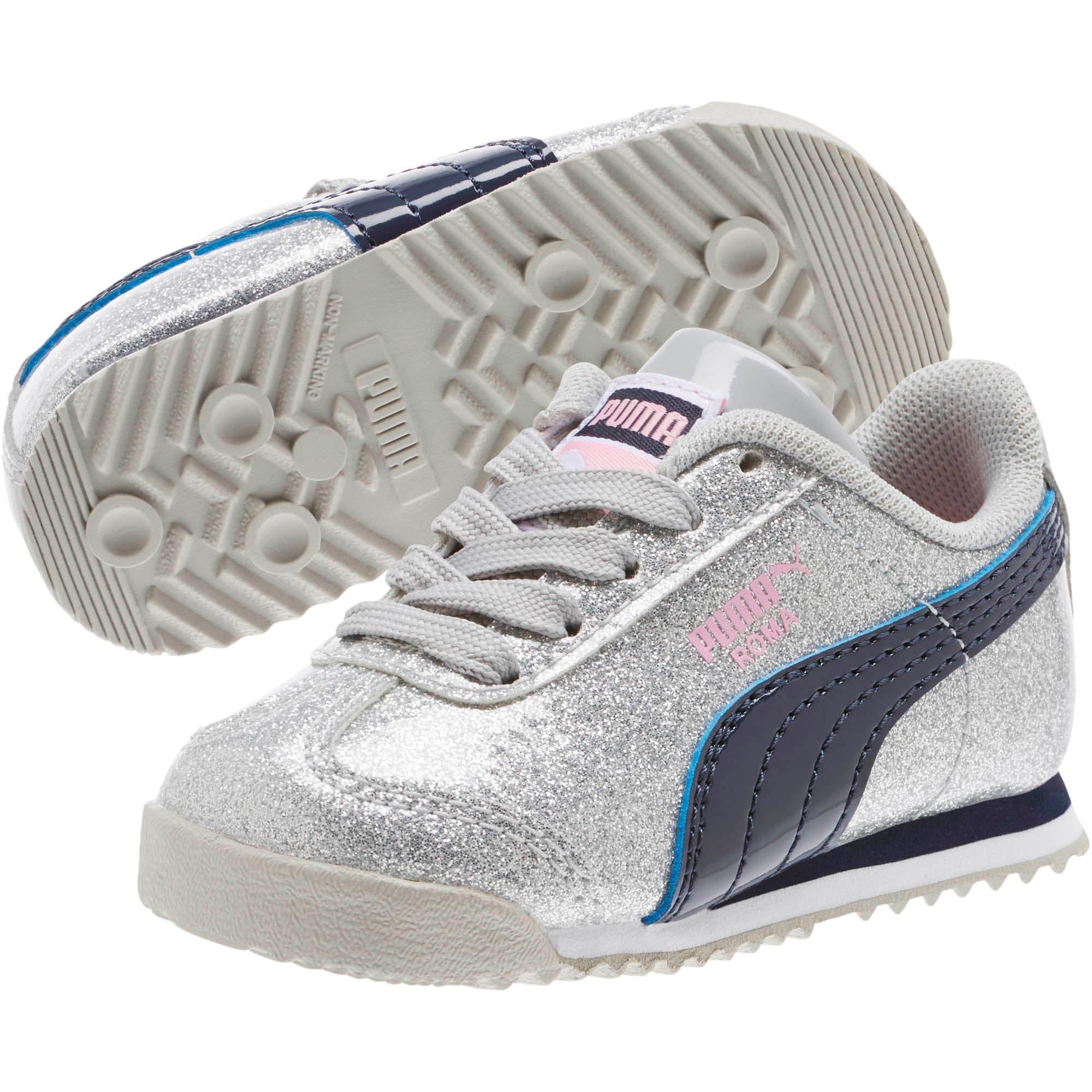 Thumbnail 2 of Roma Glam INF Shoes, Gray Violet-Peacoat, medium