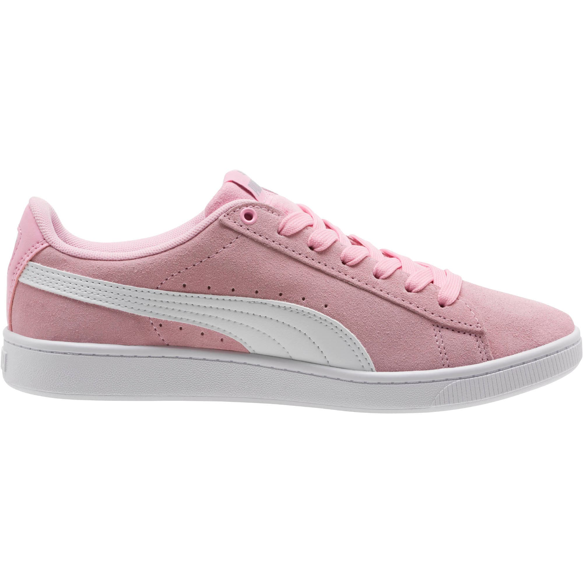 PUMA Vikky v2 Women's Sneakers, Pale Pink-Puma White-Silver, large