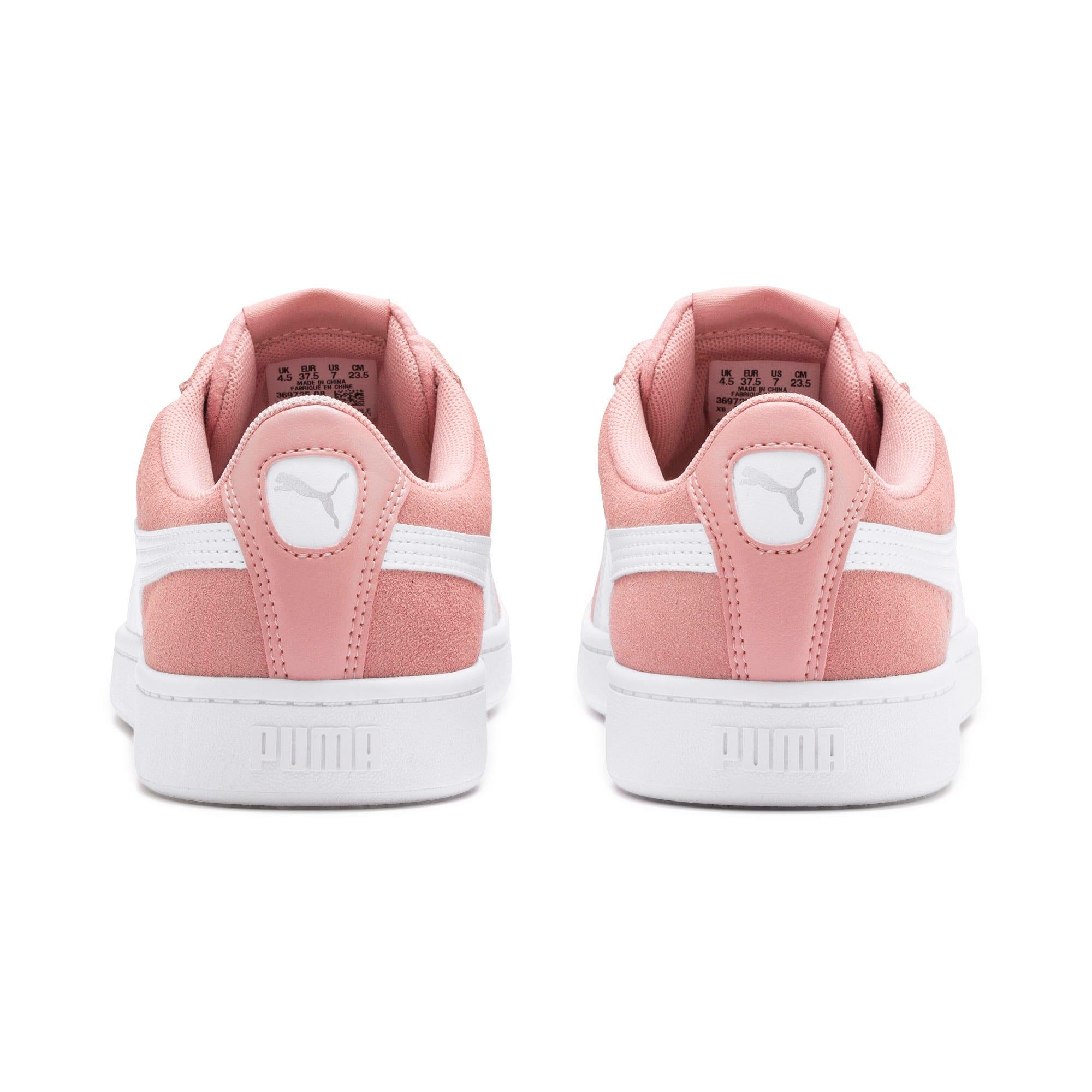 Thumbnail 4 of PUMA Vikky v2 Women's Sneakers, Bridal Rose-White-Silver, medium