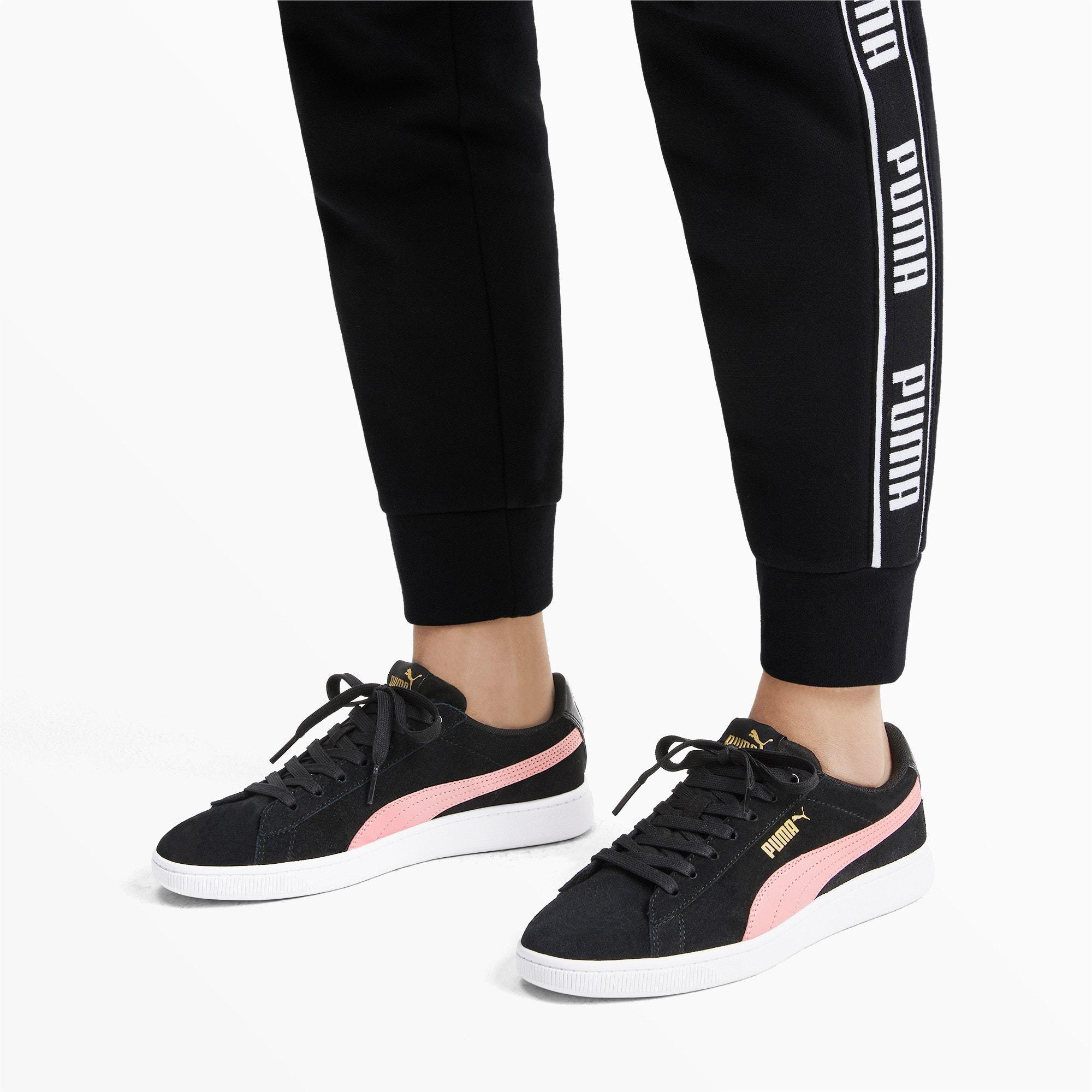 Thumbnail 3 of PUMA Vikky v2 Women's Sneakers, Puma Black-B Rose-Gold-White, medium