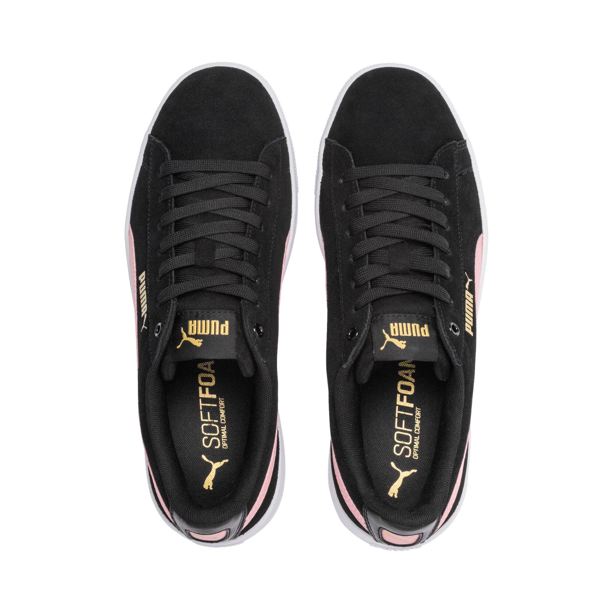 Thumbnail 7 of PUMA Vikky v2 Women's Sneakers, Puma Black-B Rose-Gold-White, medium