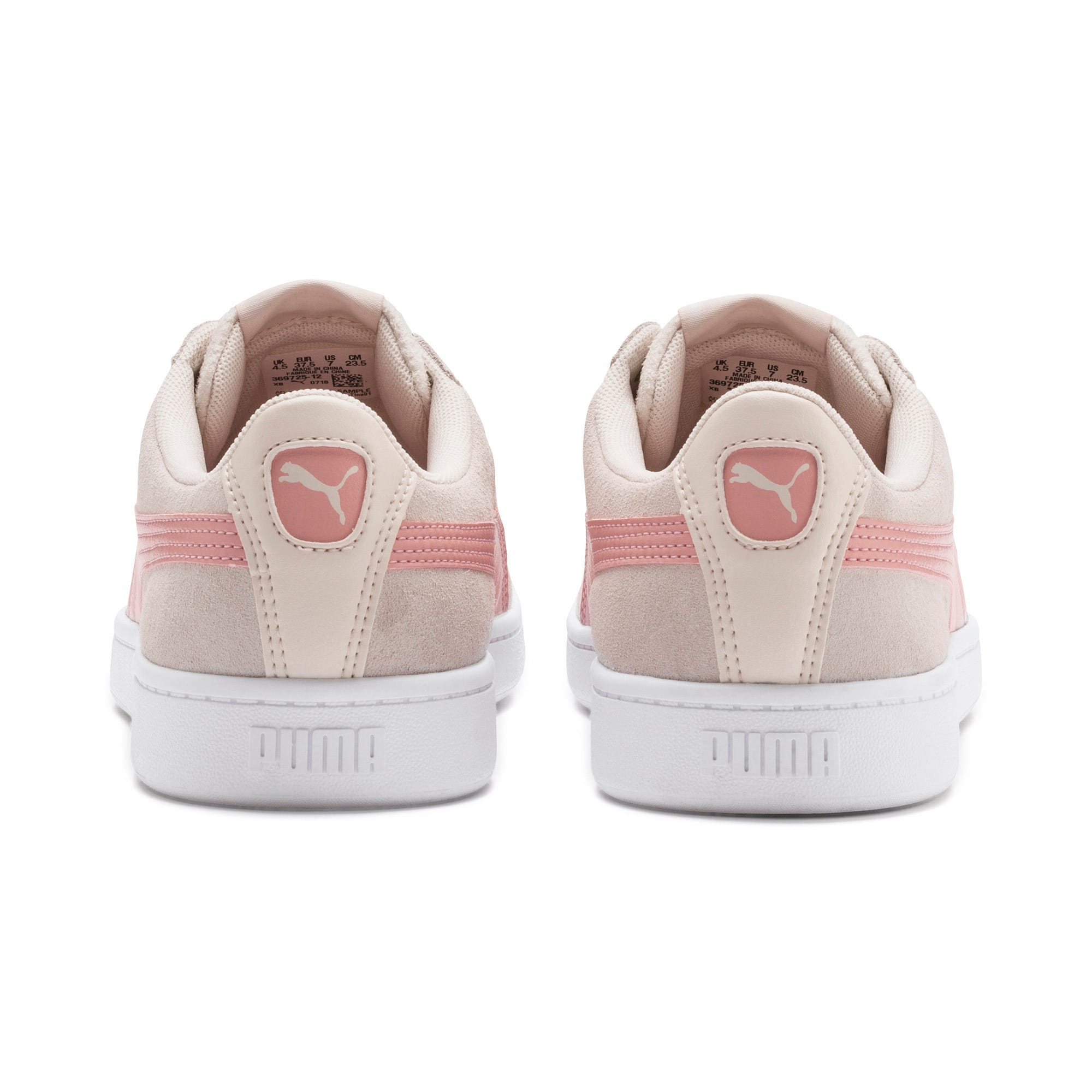 Thumbnail 4 of PUMA Vikky v2 Women's Sneakers, P Parchment-B Rose-White, medium
