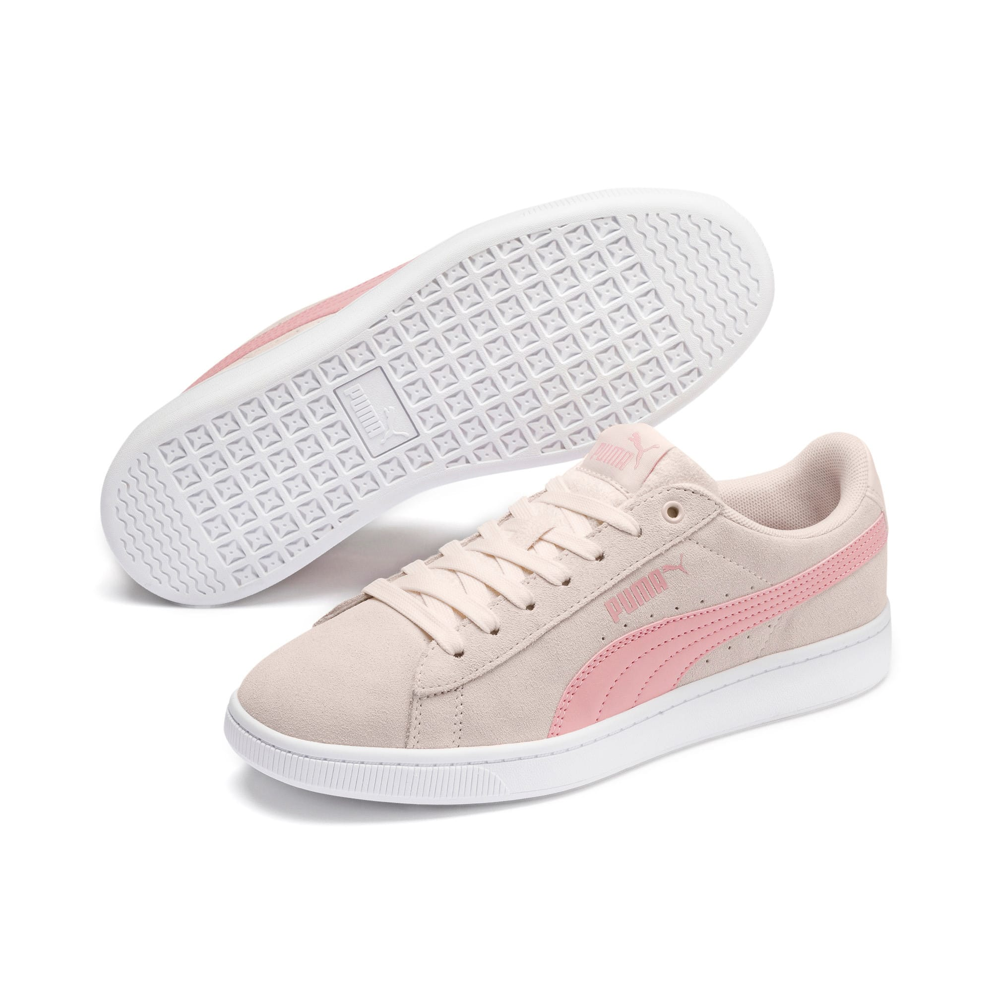 Thumbnail 2 of PUMA Vikky v2 Women's Sneakers, P Parchment-B Rose-White, medium