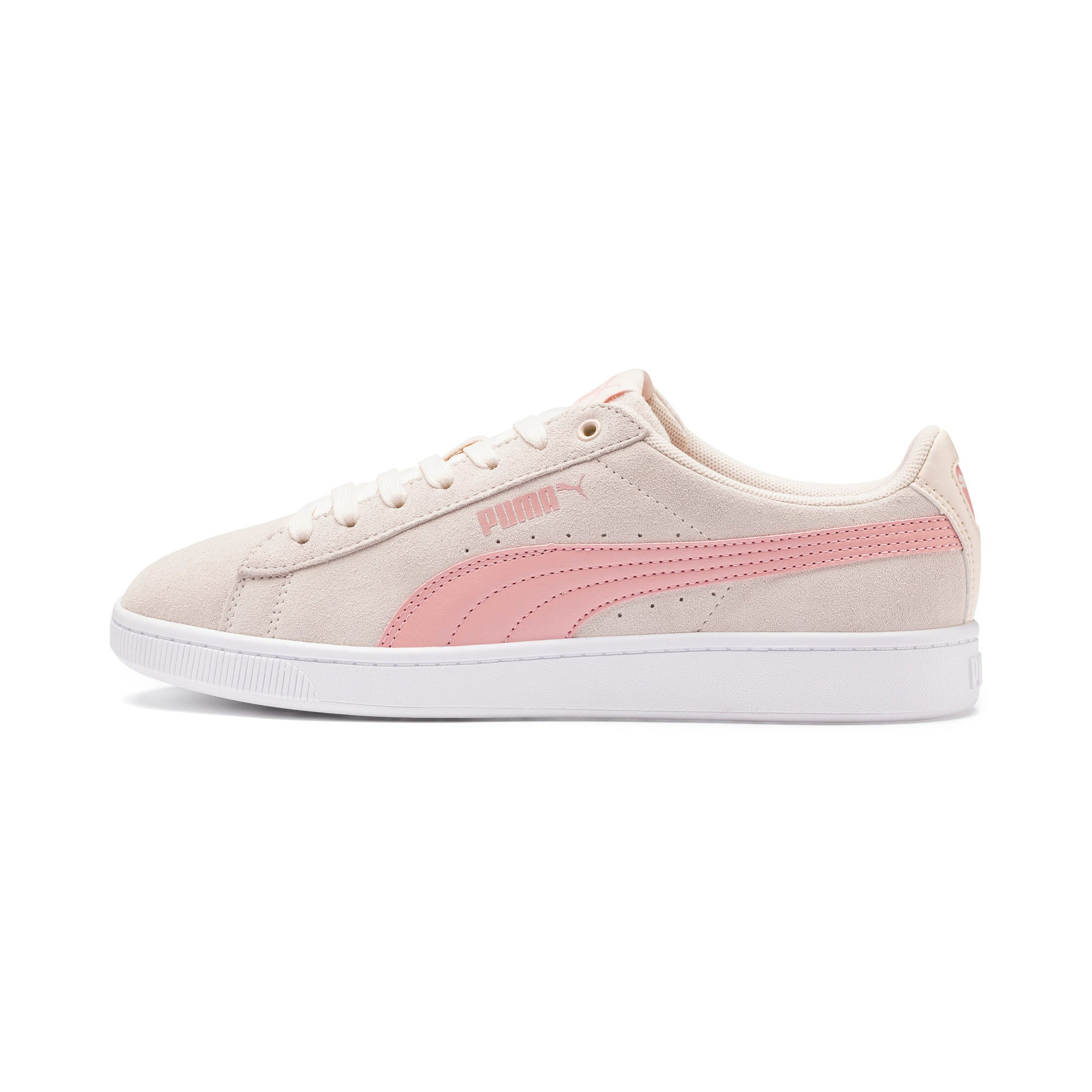 Thumbnail 1 of PUMA Vikky v2 Women's Sneakers, P Parchment-B Rose-White, medium