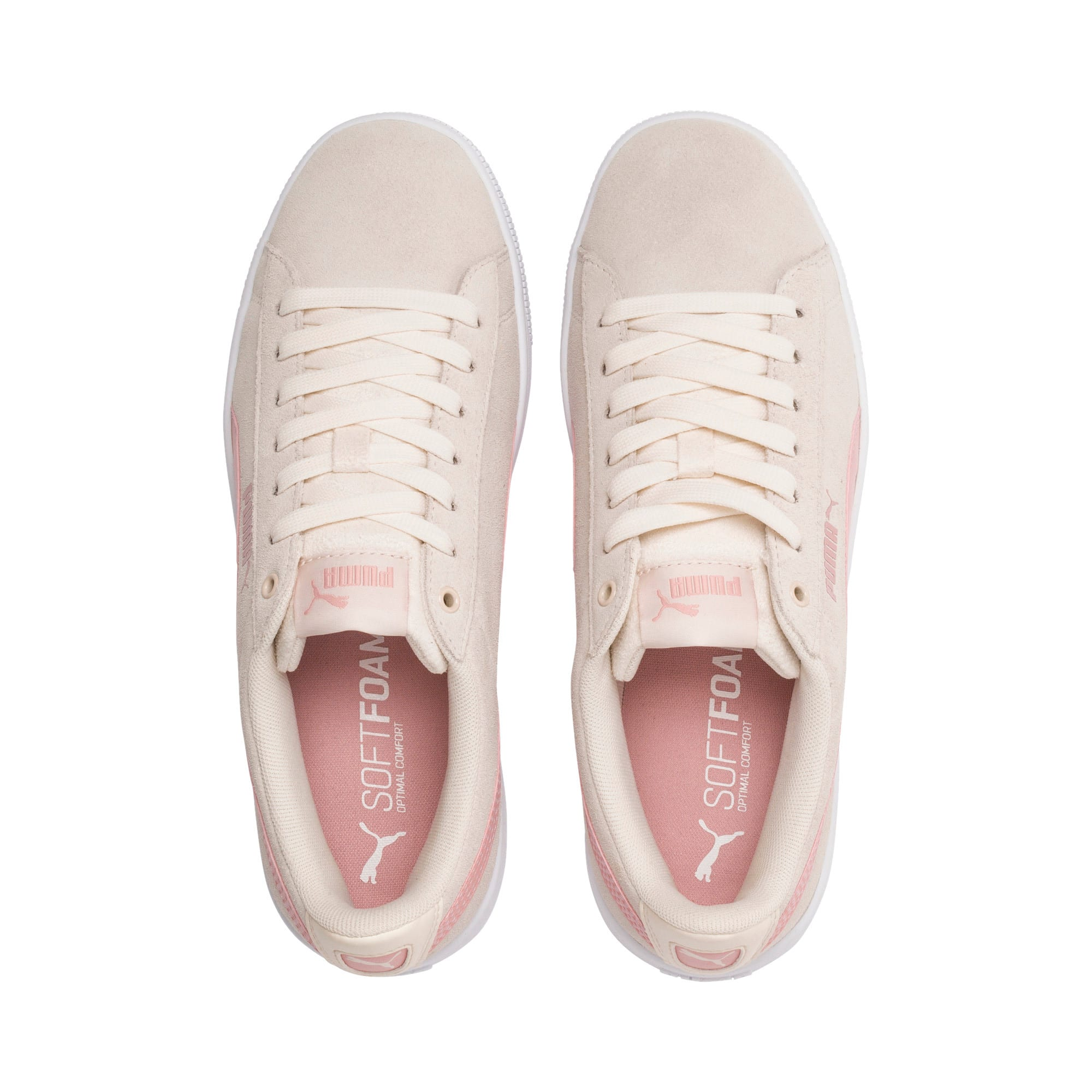 Thumbnail 7 of PUMA Vikky v2 Women's Sneakers, P Parchment-B Rose-White, medium