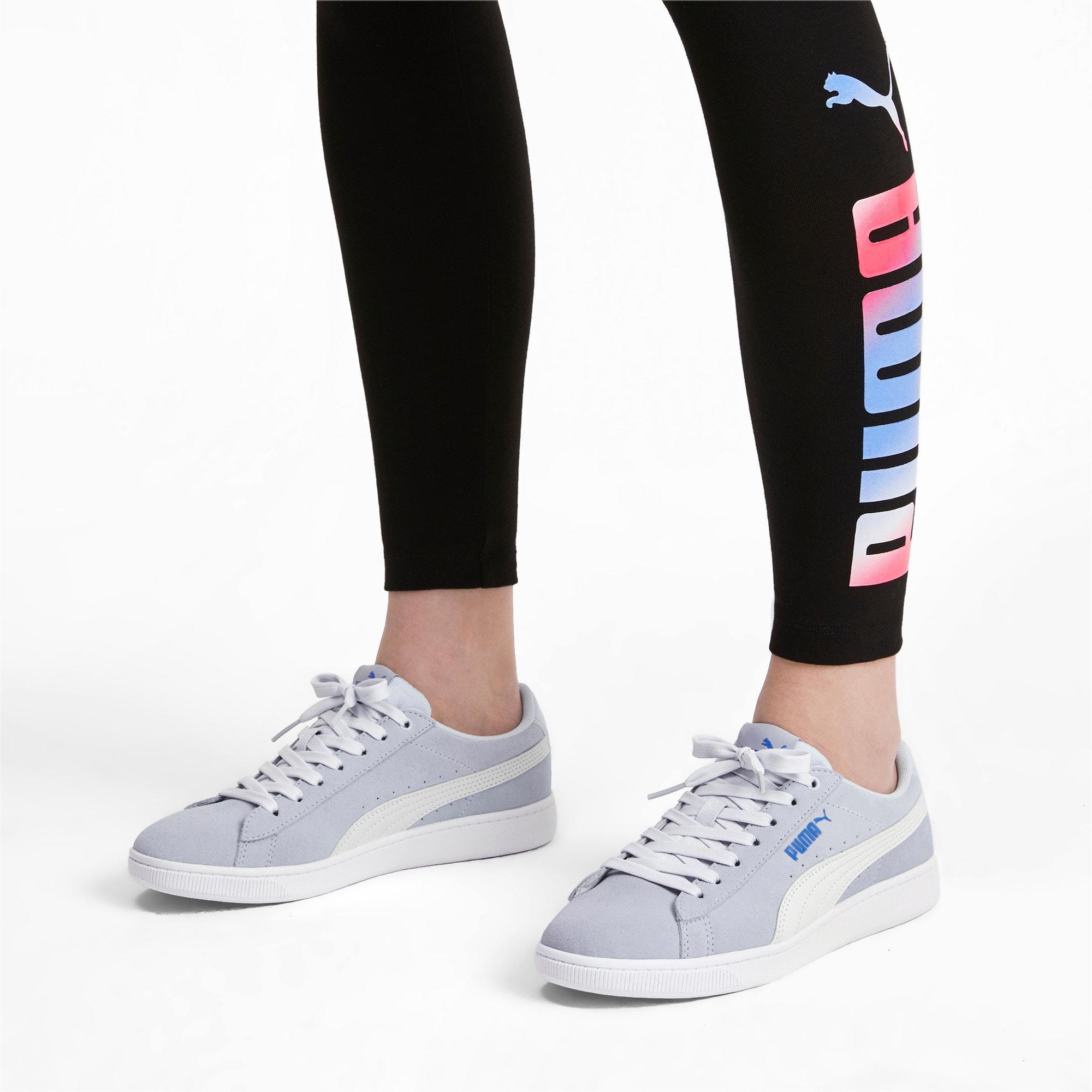 Thumbnail 3 of PUMA Vikky v2 Women's Sneakers, Heather-Ultramarine-White, medium