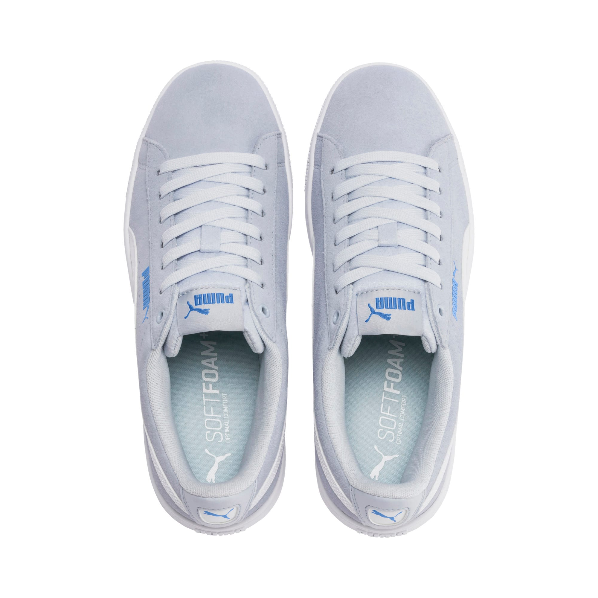 Thumbnail 7 of PUMA Vikky v2 Women's Sneakers, Heather-Ultramarine-White, medium