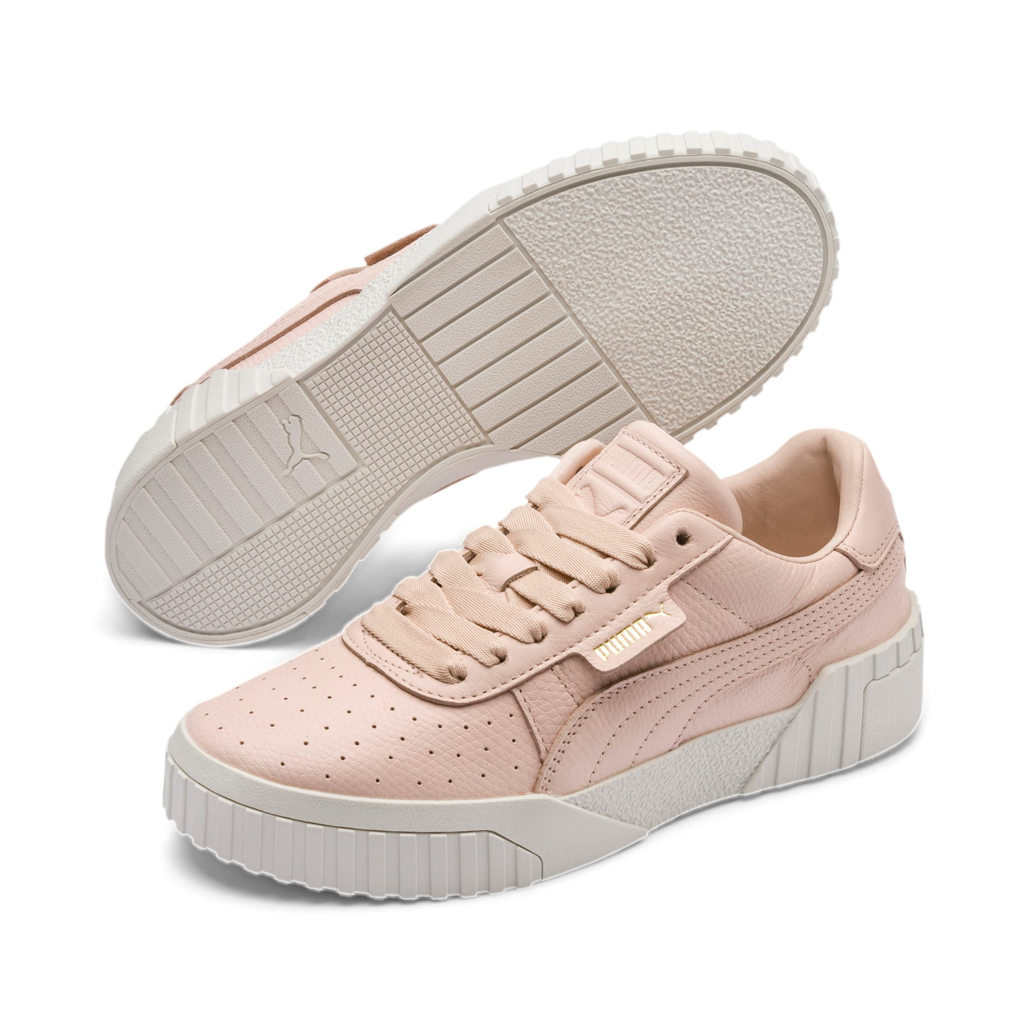 Thumbnail 3 van Cali Emboss sneakers voor dames, Cream Tan-Cream Tan, medium