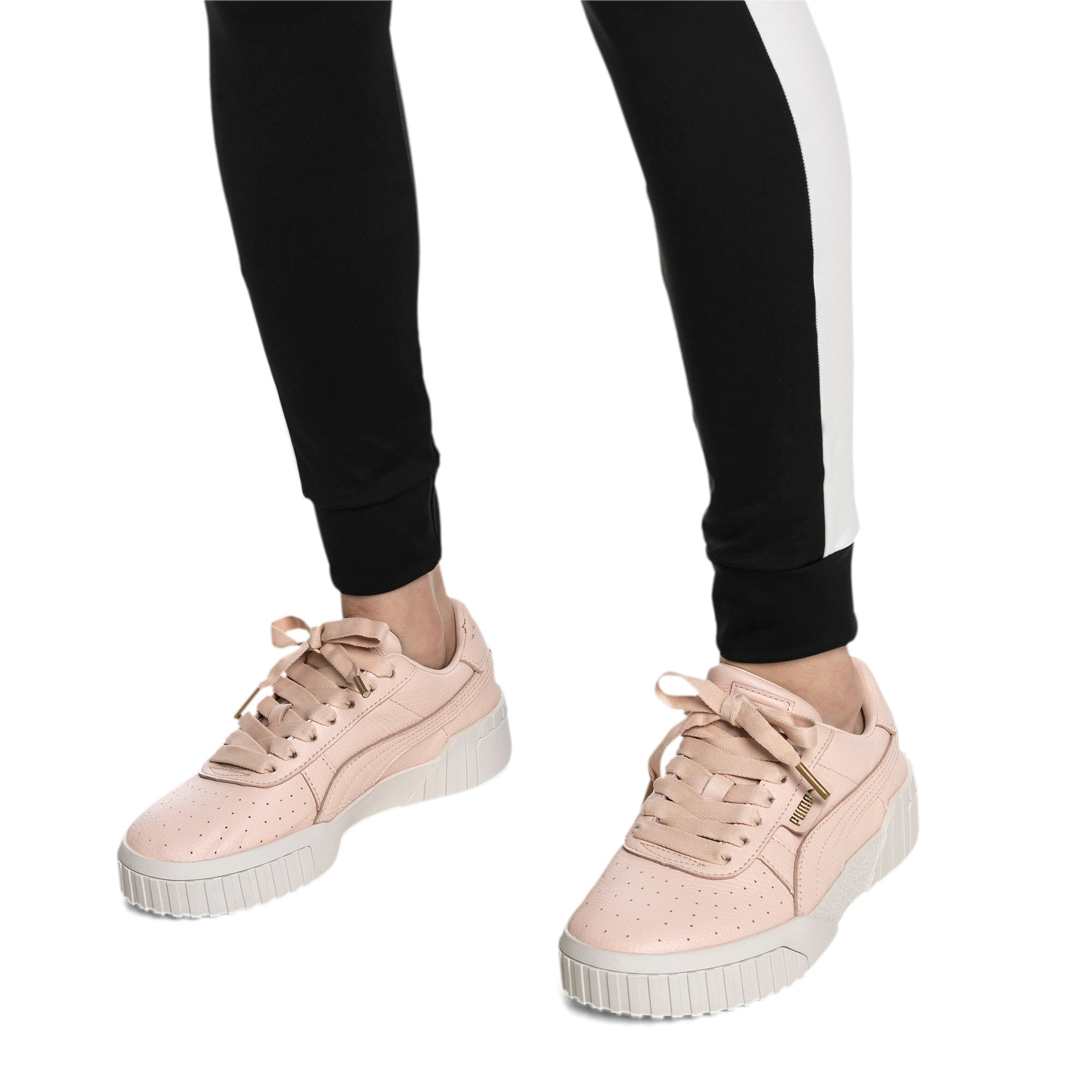 Thumbnail 2 van Cali Emboss sneakers voor dames, Cream Tan-Cream Tan, medium