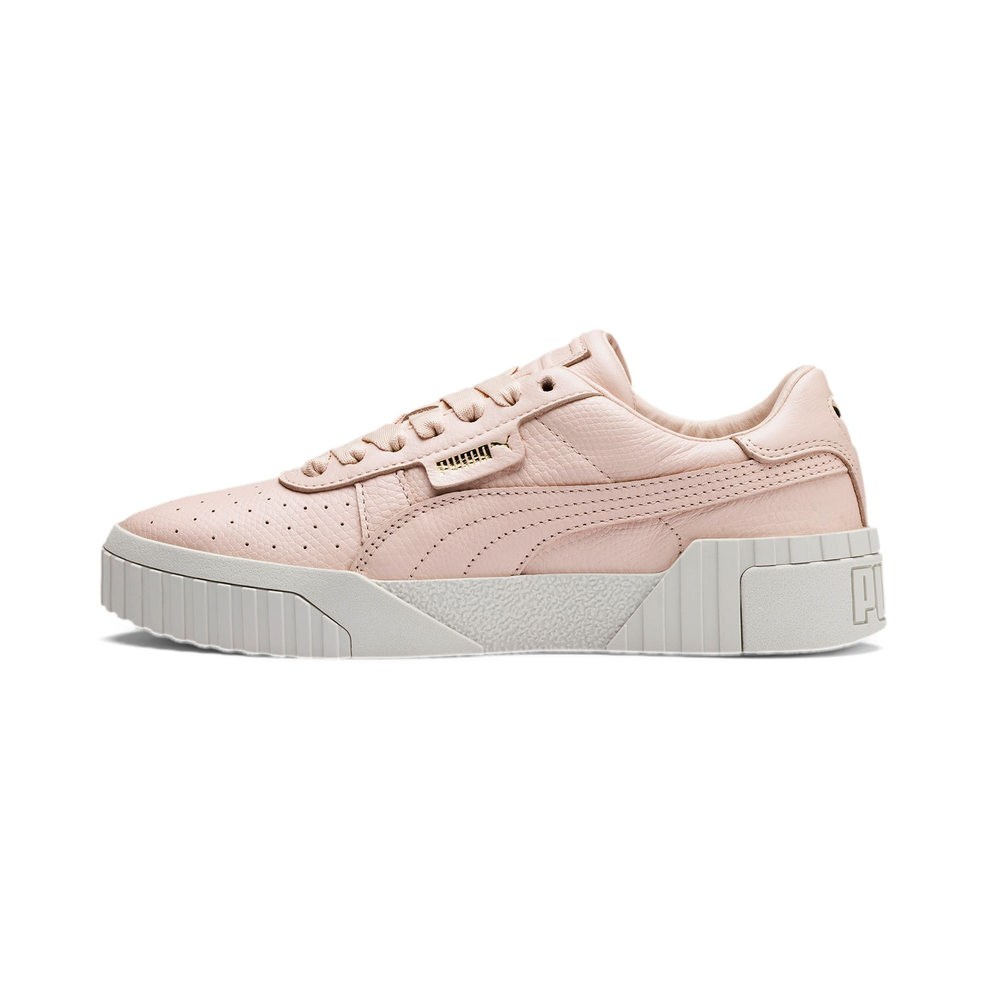 Thumbnail 1 van Cali Emboss sneakers voor dames, Cream Tan-Cream Tan, medium