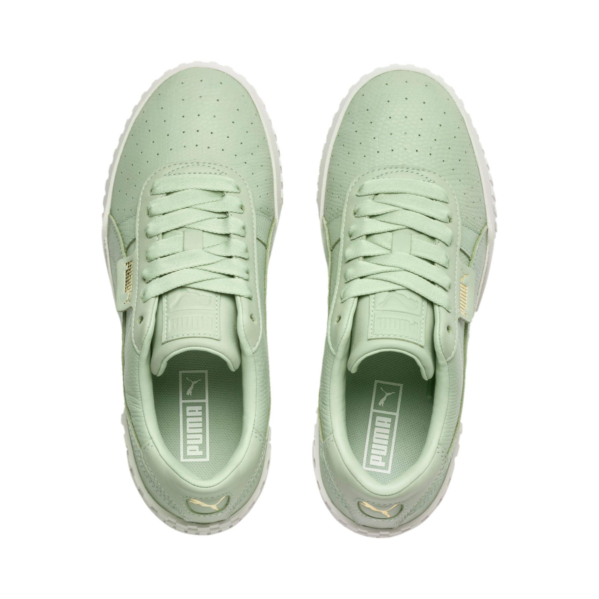 Thumbnail 7 of Cali Emboss Women's Sneakers, Smoke Green-Smoke Green, medium