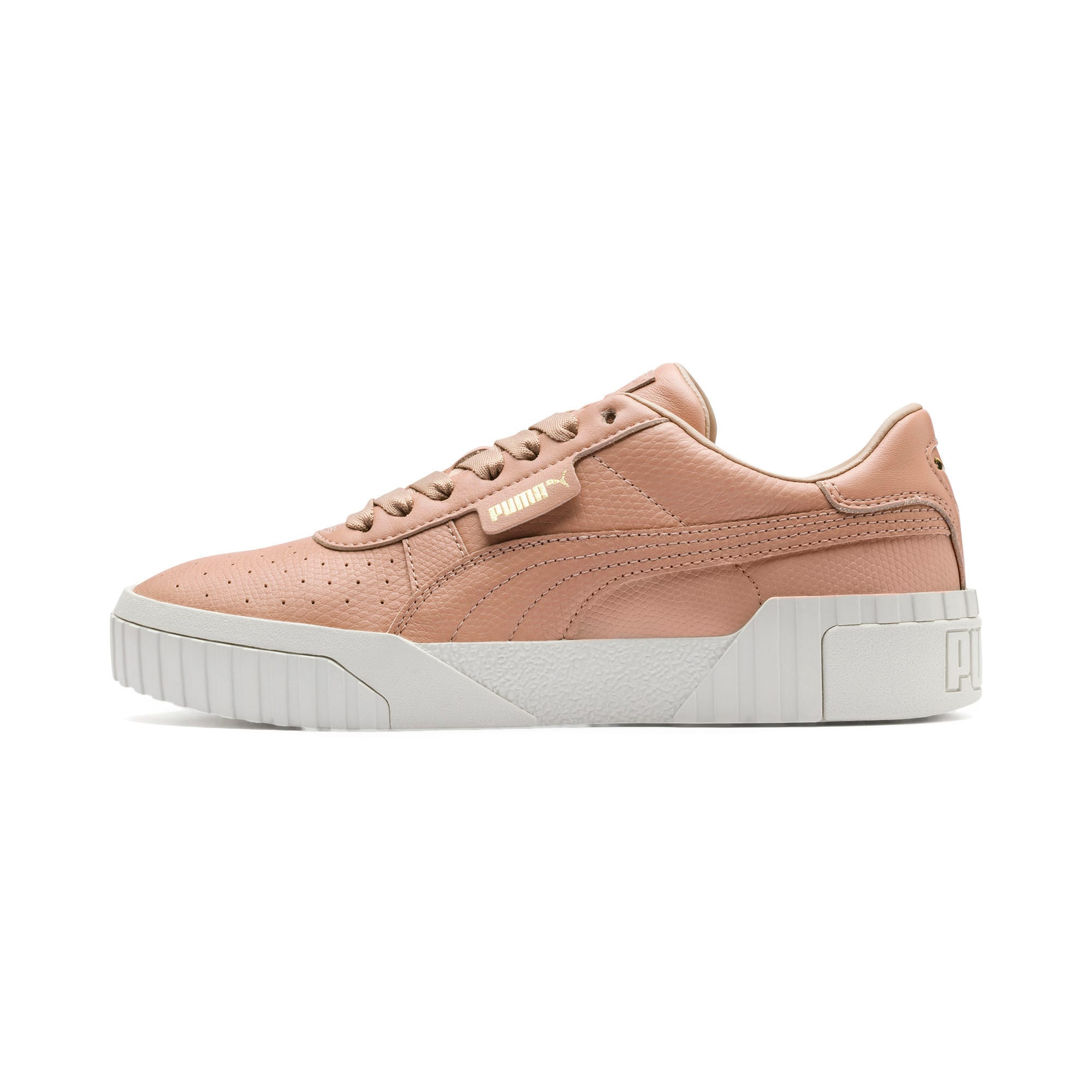 Thumbnail 1 of Cali Emboss Women's Trainers, Nougat, medium