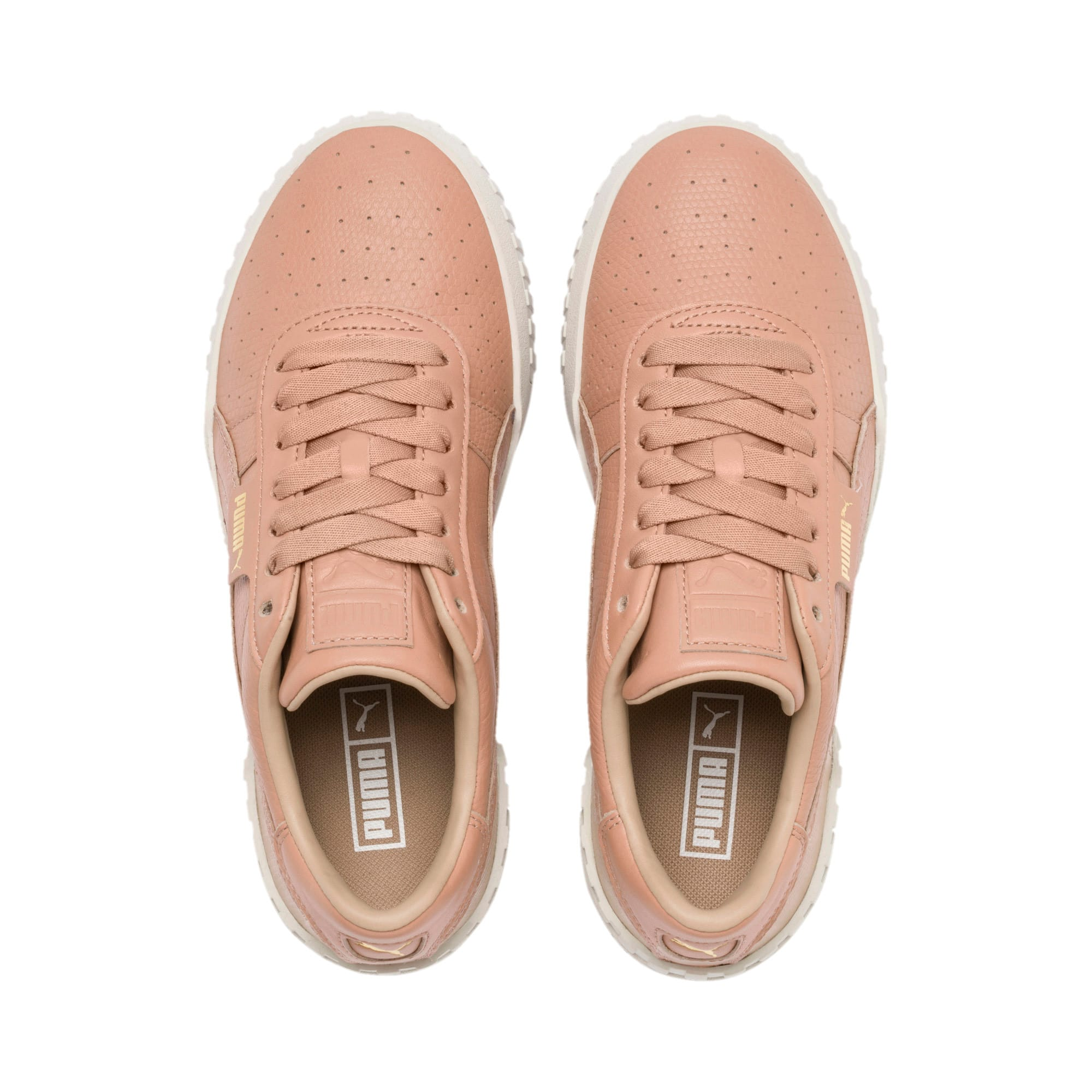 Thumbnail 7 of Cali Emboss Women's Trainers, Nougat, medium