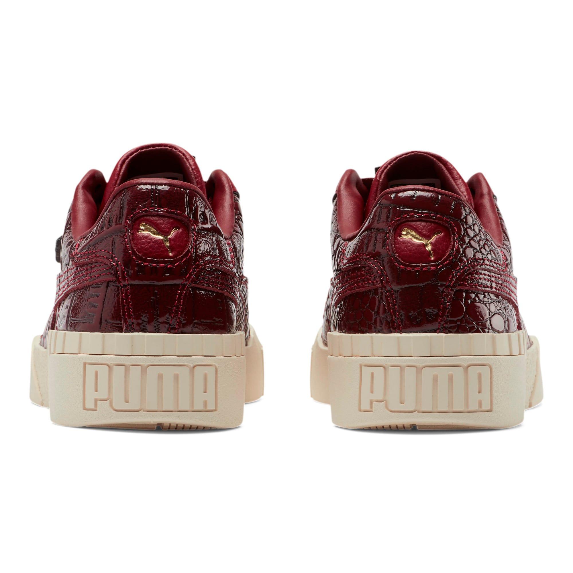 Thumbnail 4 of Cali Croc Women's Sneakers, Pomegranate-Pomegranate, medium
