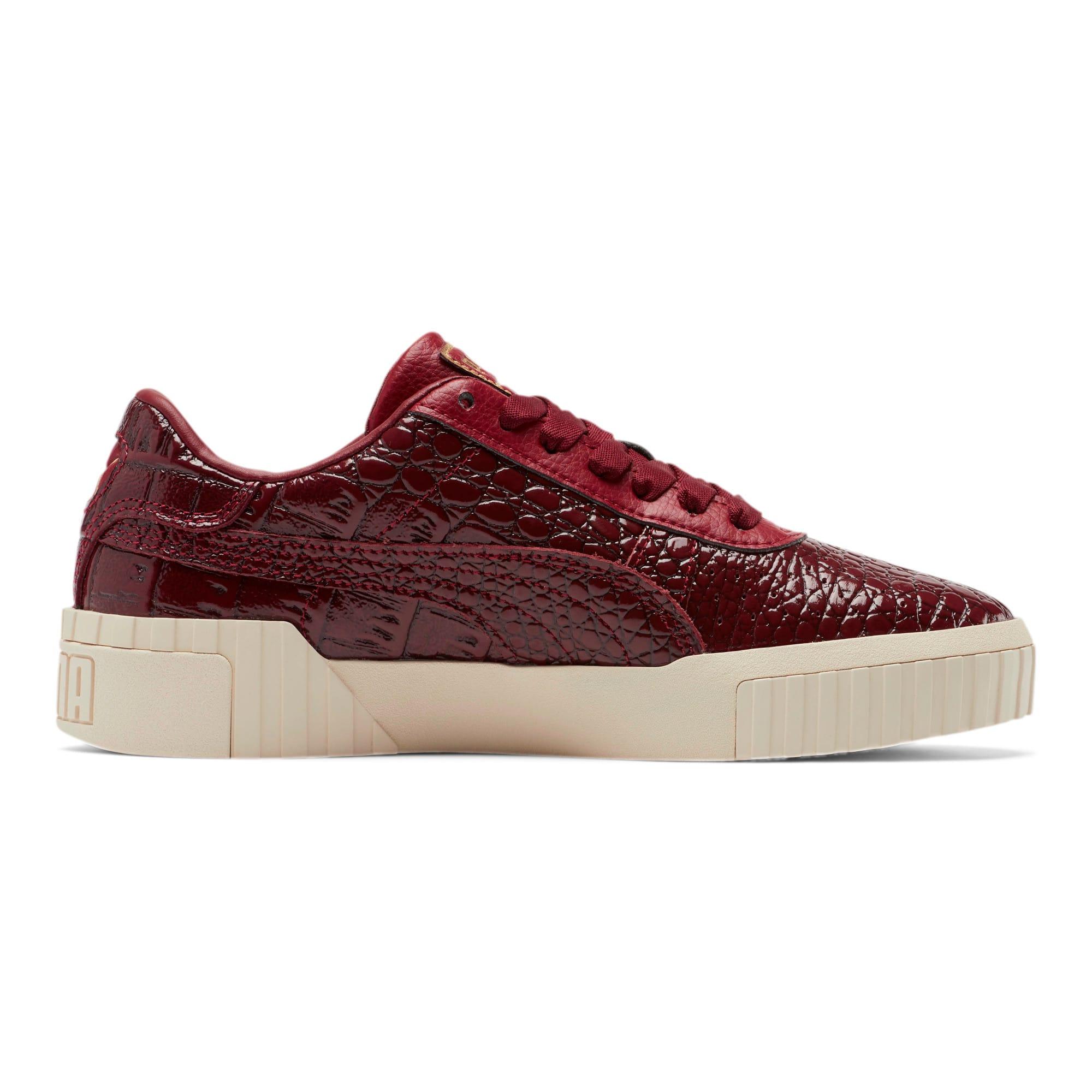 Thumbnail 6 of Cali Croc Women's Sneakers, Pomegranate-Pomegranate, medium