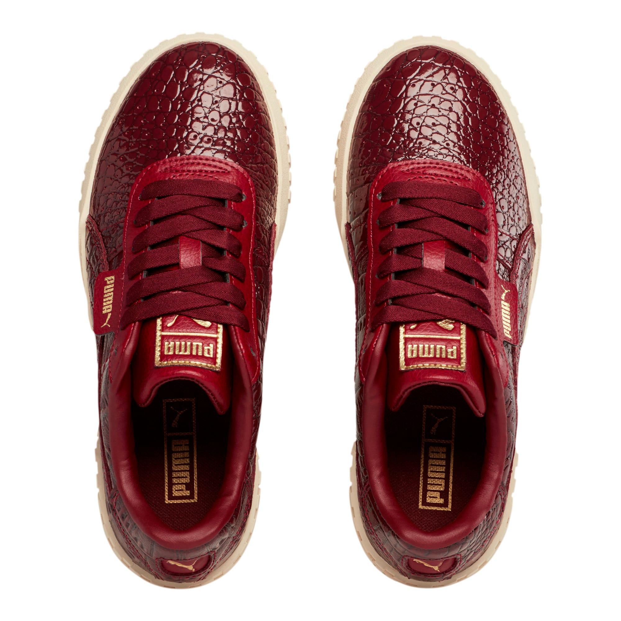 Thumbnail 7 of Cali Croc Women's Sneakers, Pomegranate-Pomegranate, medium